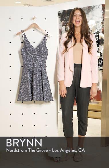 Glitter V-Neck Party Dress, sales video thumbnail
