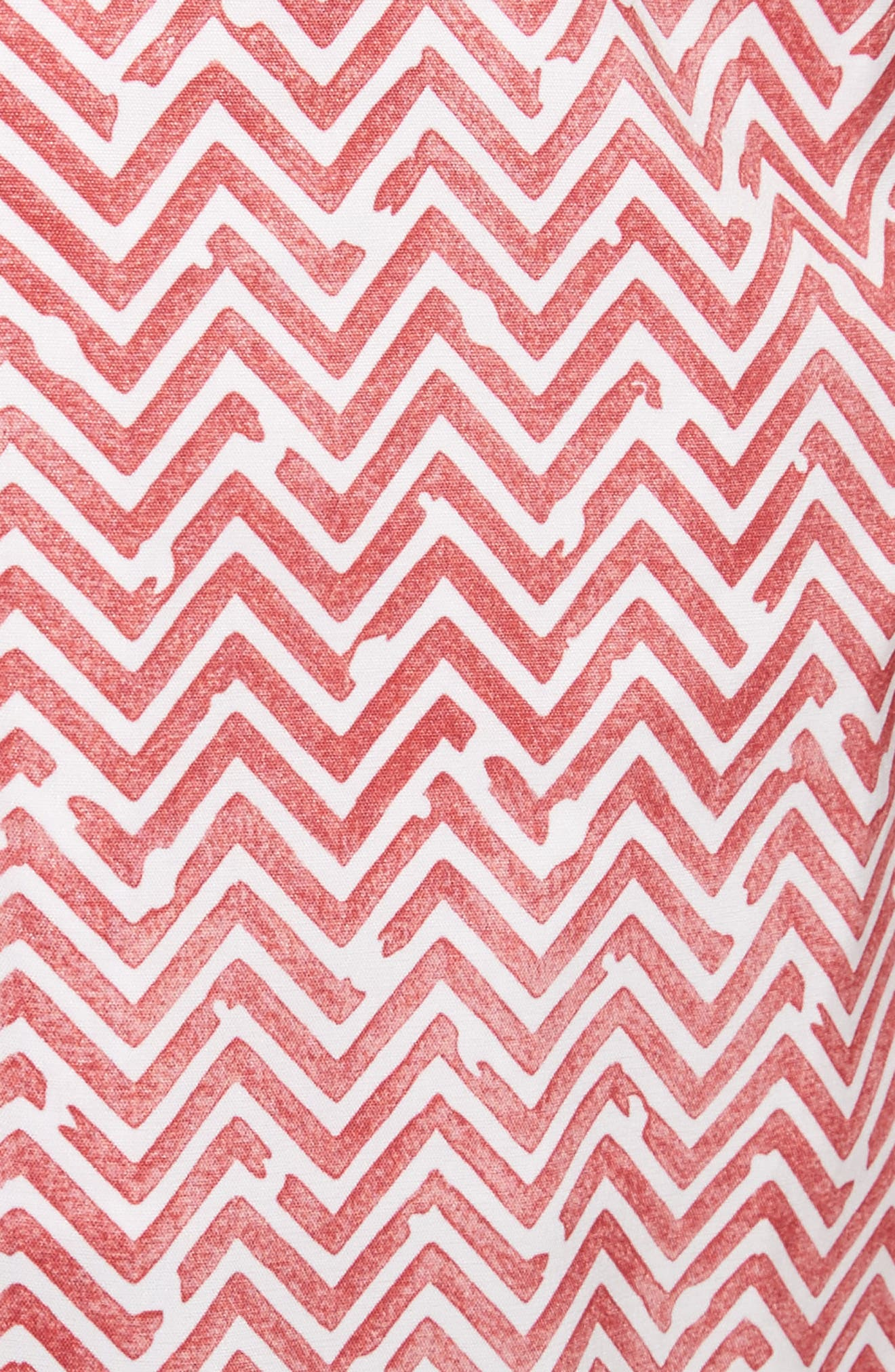 Charles Water Tile Swim Trunks,                             Alternate thumbnail 5, color,                             600