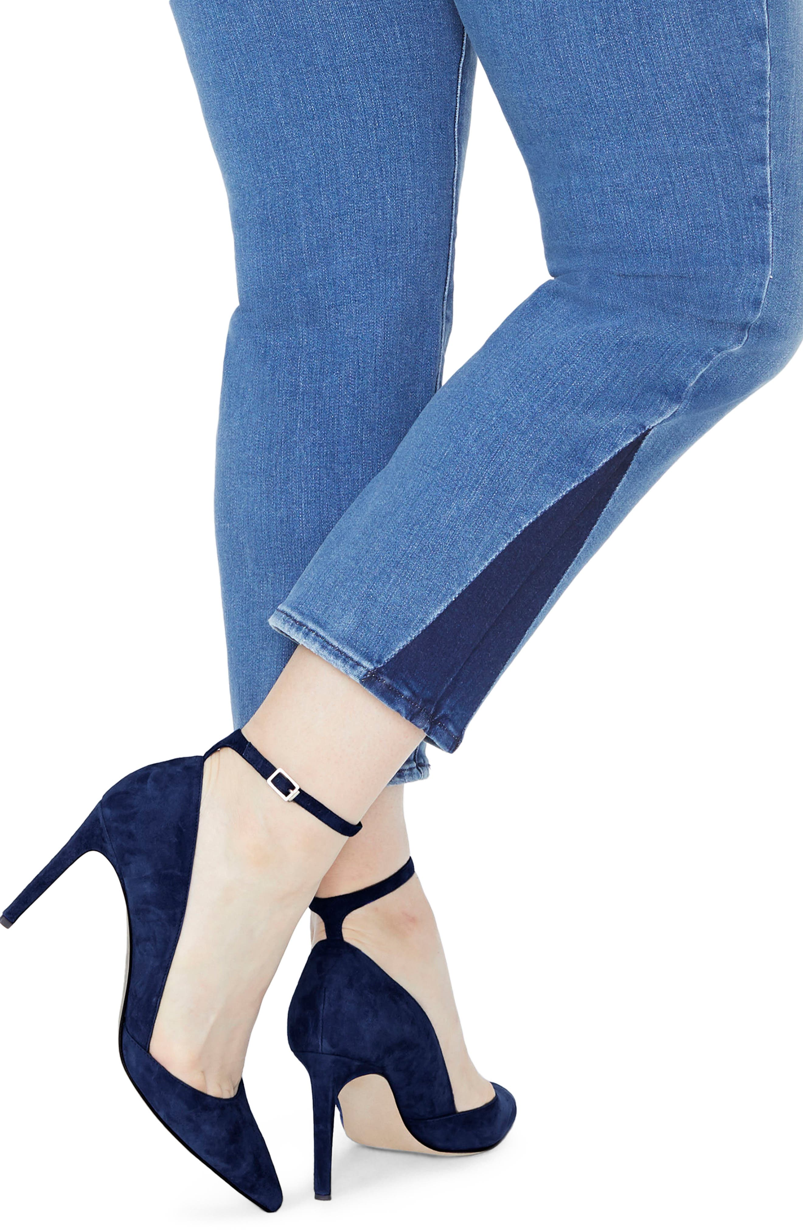Sheri Slim Shadow Ankle Jeans,                             Alternate thumbnail 3, color,