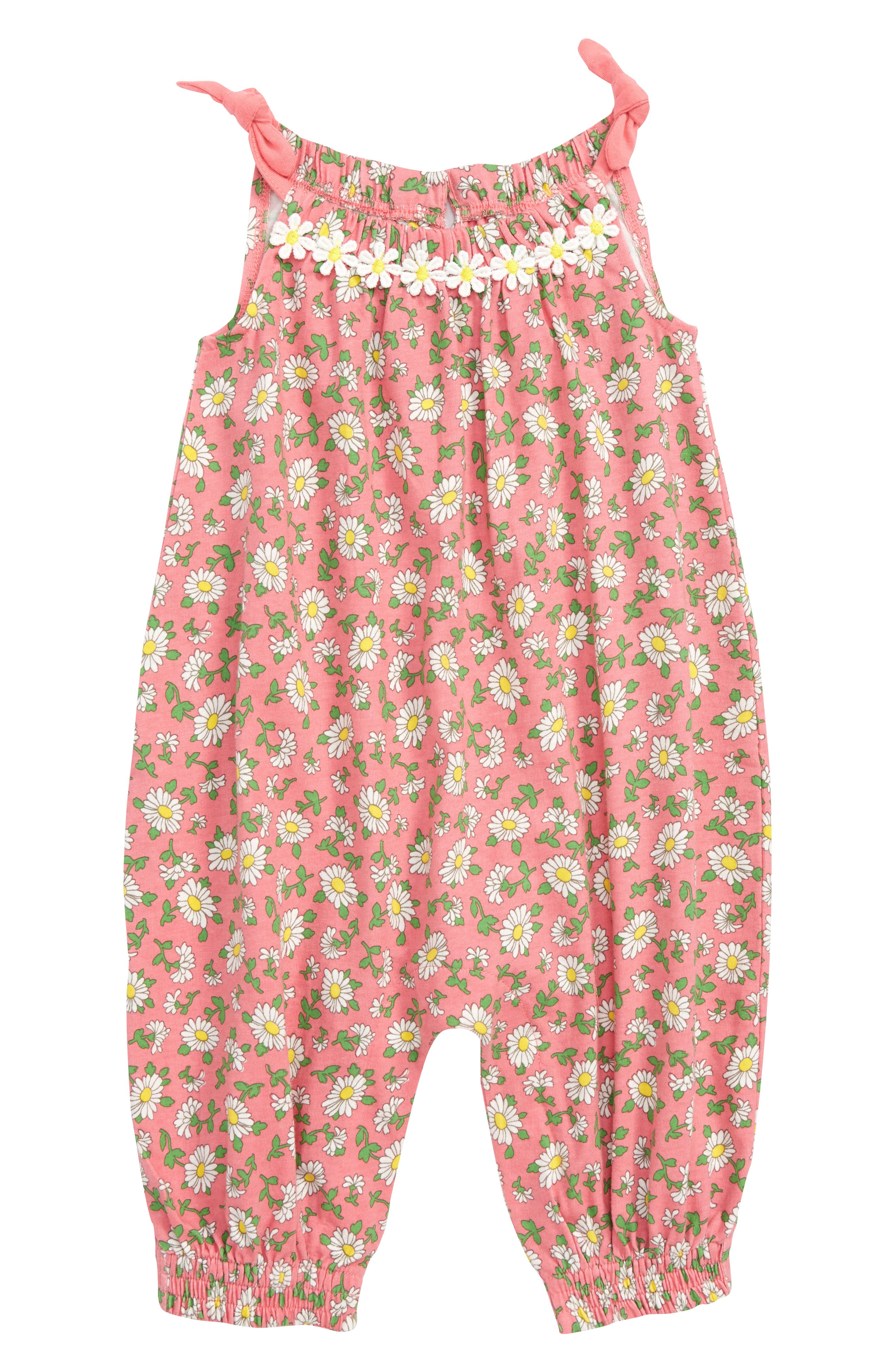 Daisy Bubble Romper,                             Main thumbnail 1, color,                             664