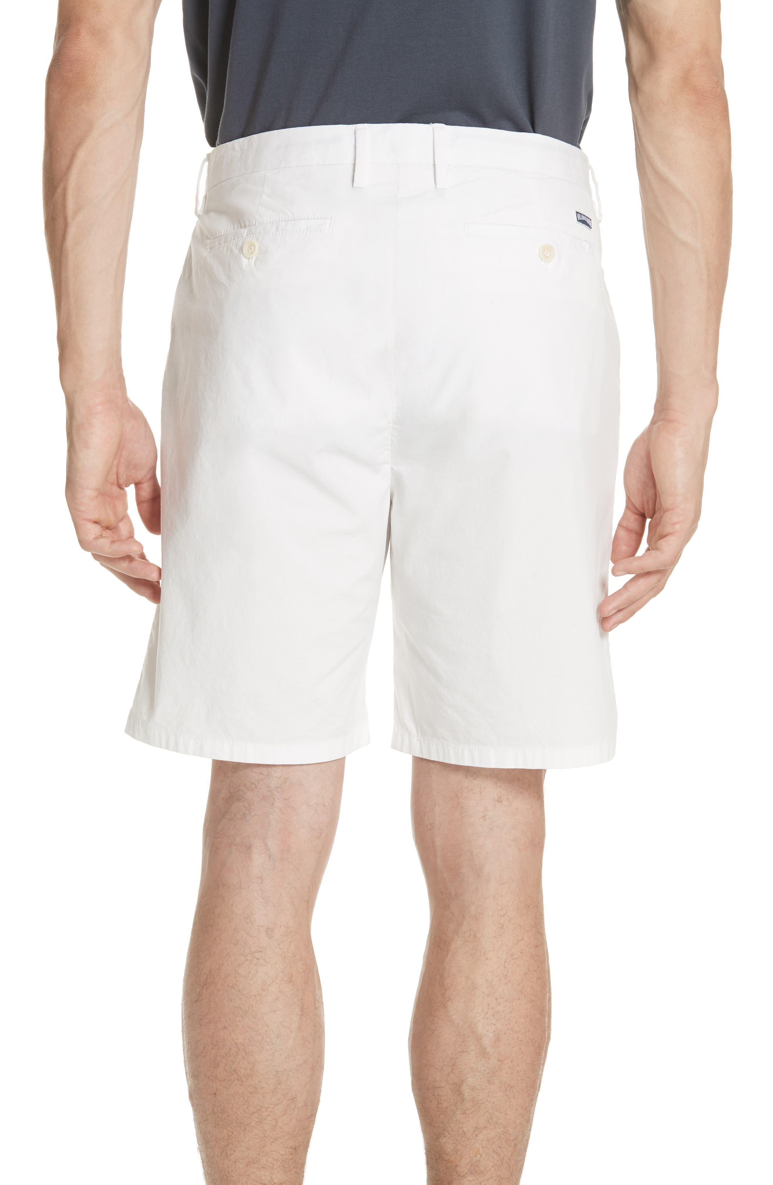 Poplin Chino Shorts,                             Alternate thumbnail 2, color,                             CANVAS