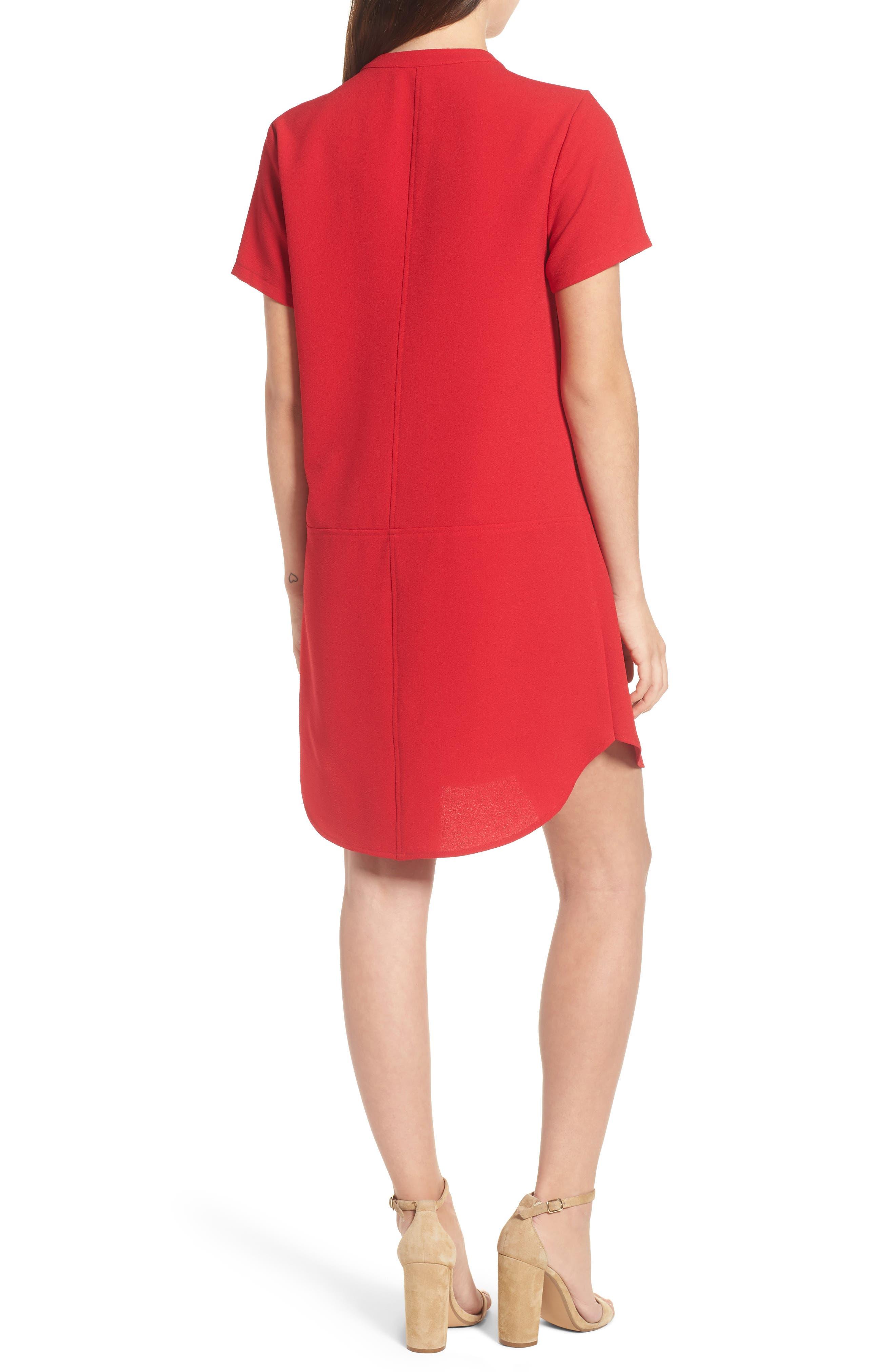 Hailey Crepe Dress,                             Alternate thumbnail 46, color,