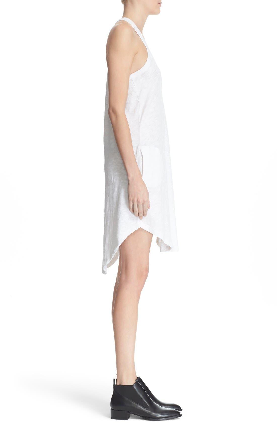 Cotton Trapeze Tank Dress,                             Alternate thumbnail 12, color,