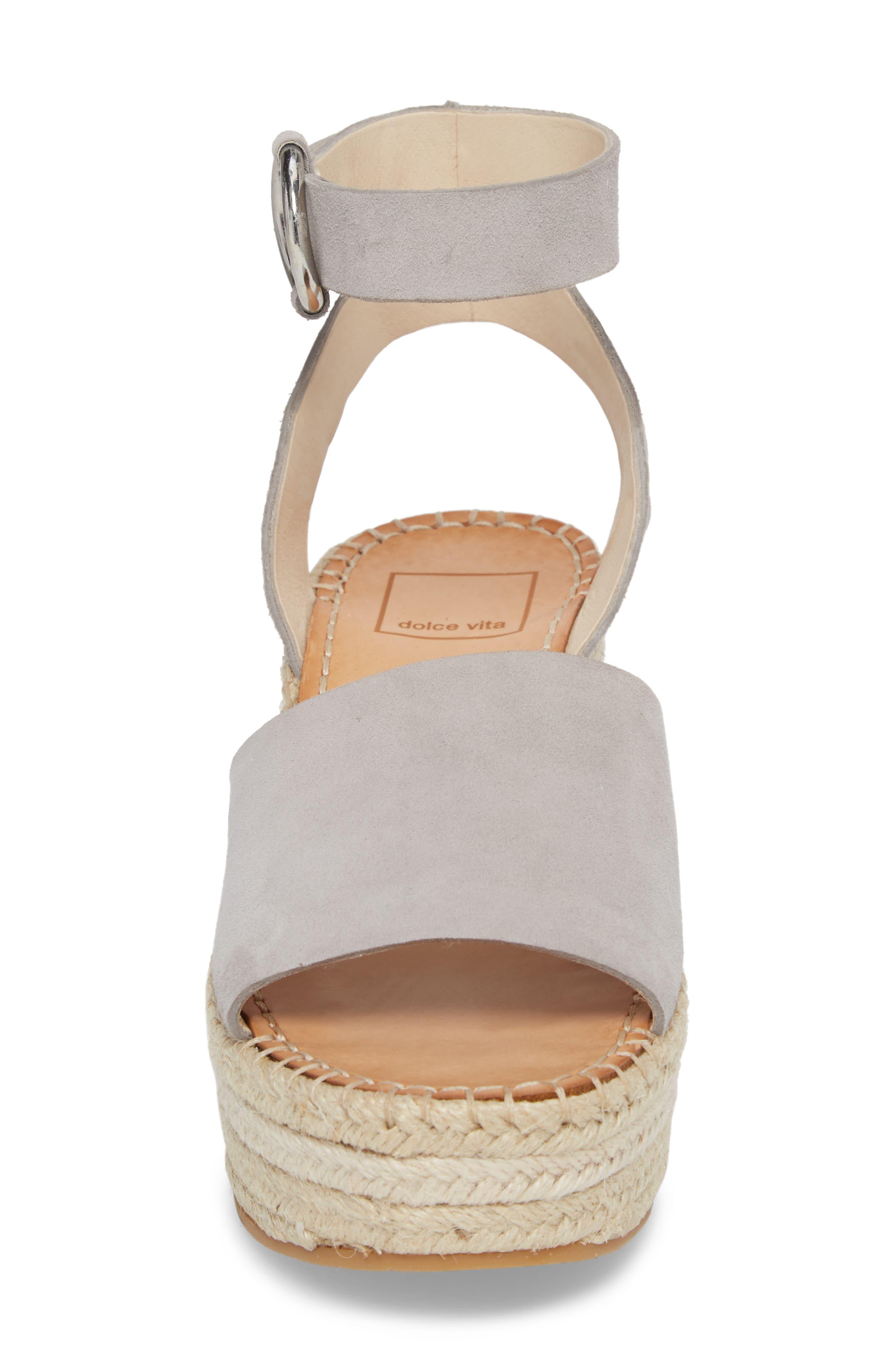 Lesly Espadrille Platform Sandal,                             Alternate thumbnail 24, color,