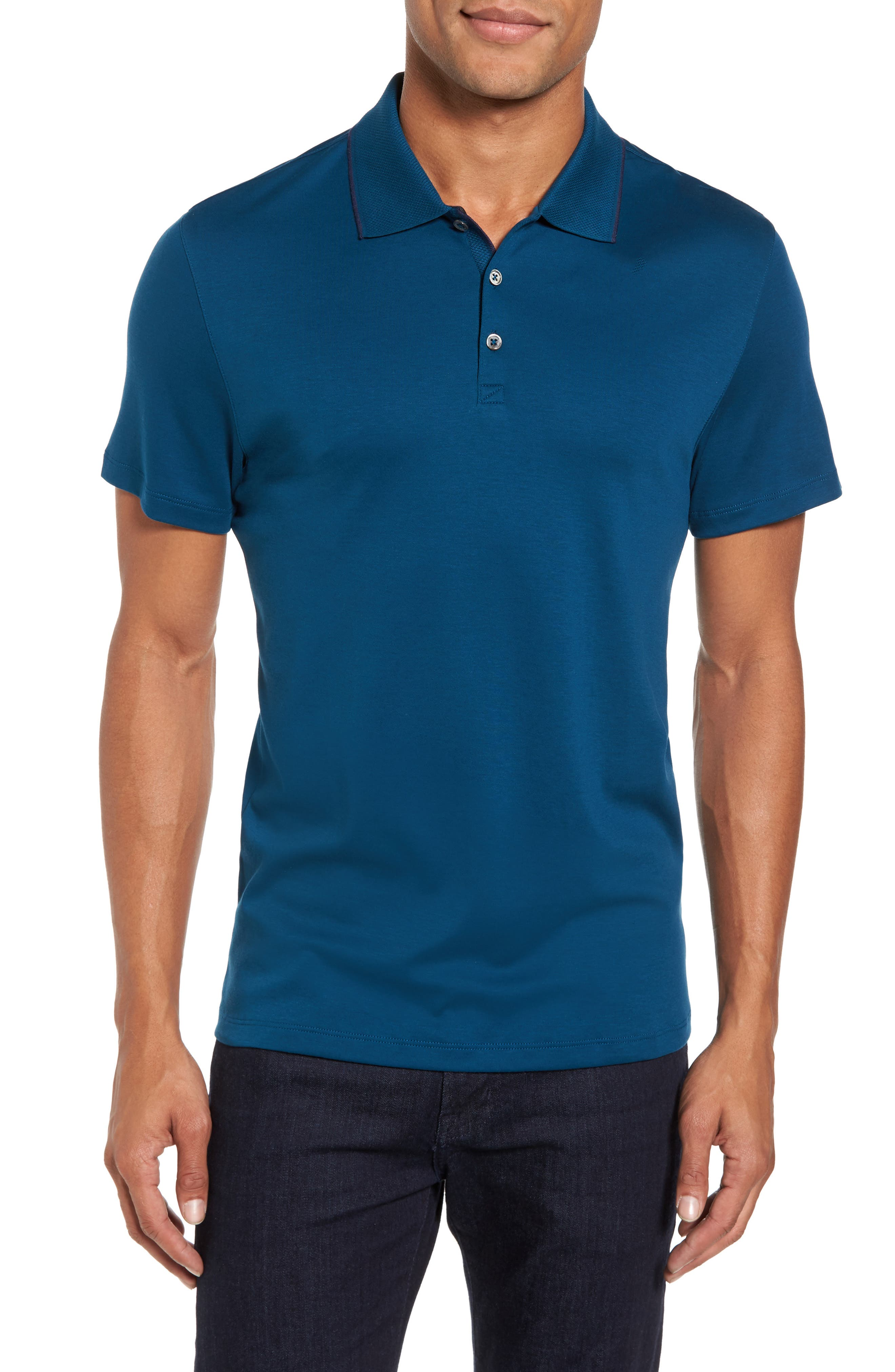 Grindstone Slim Fit Polo,                             Main thumbnail 2, color,