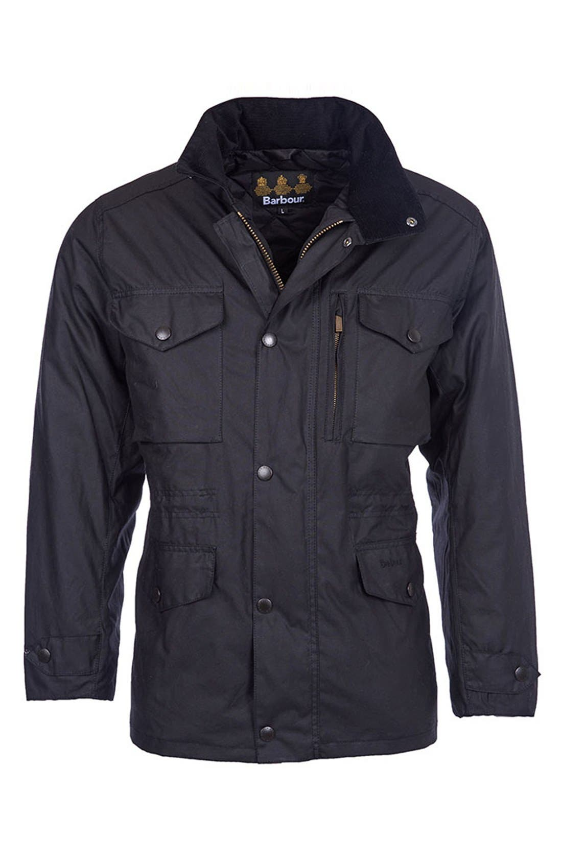'Sapper' Weatherproof Waxed Relaxed Fit Jacket,                             Alternate thumbnail 2, color,                             001
