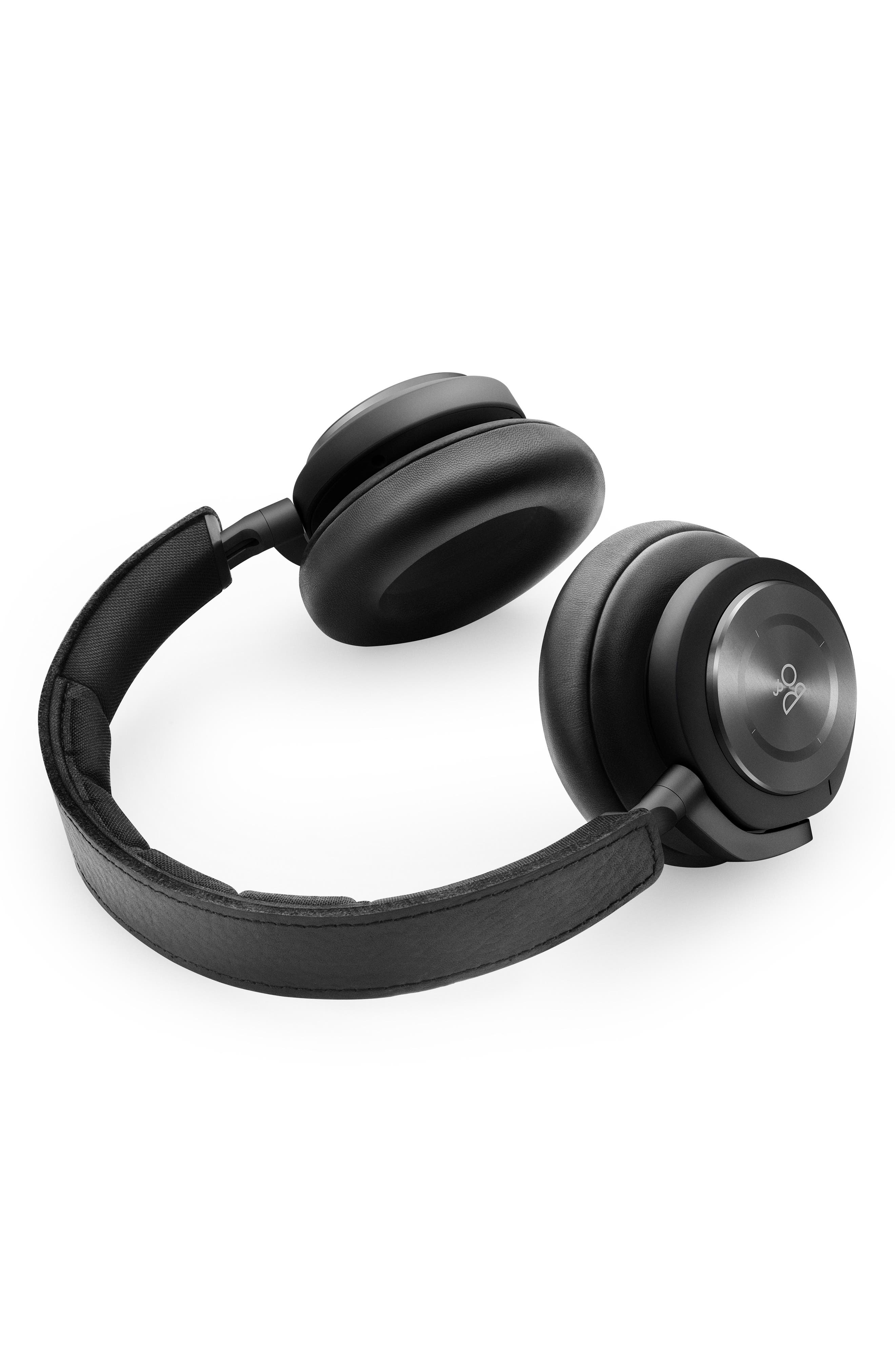 Beoplay H9I Noise Canceling Bluetooth<sup>®</sup> Headphones,                             Alternate thumbnail 3, color,                             001