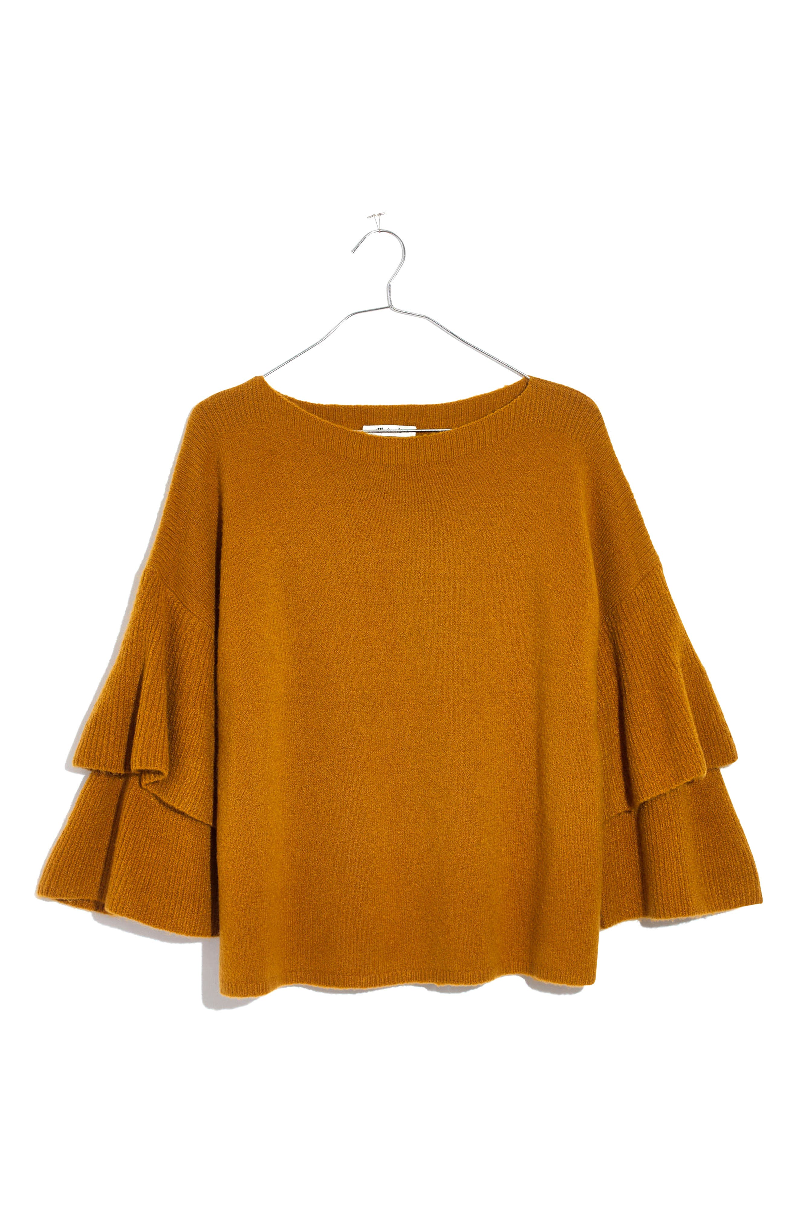 Tier Sleeve Sweater,                             Alternate thumbnail 9, color,