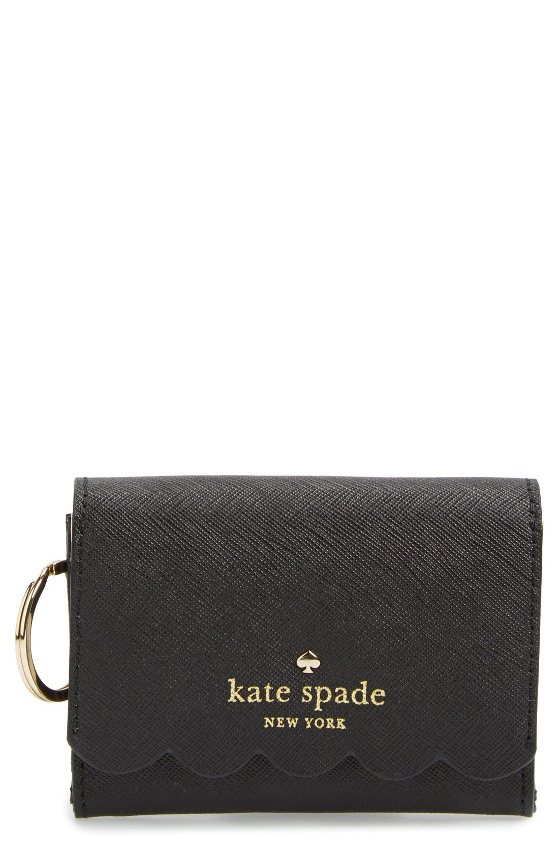 'lily avenue - darla' leather wallet,                         Main,                         color, 019