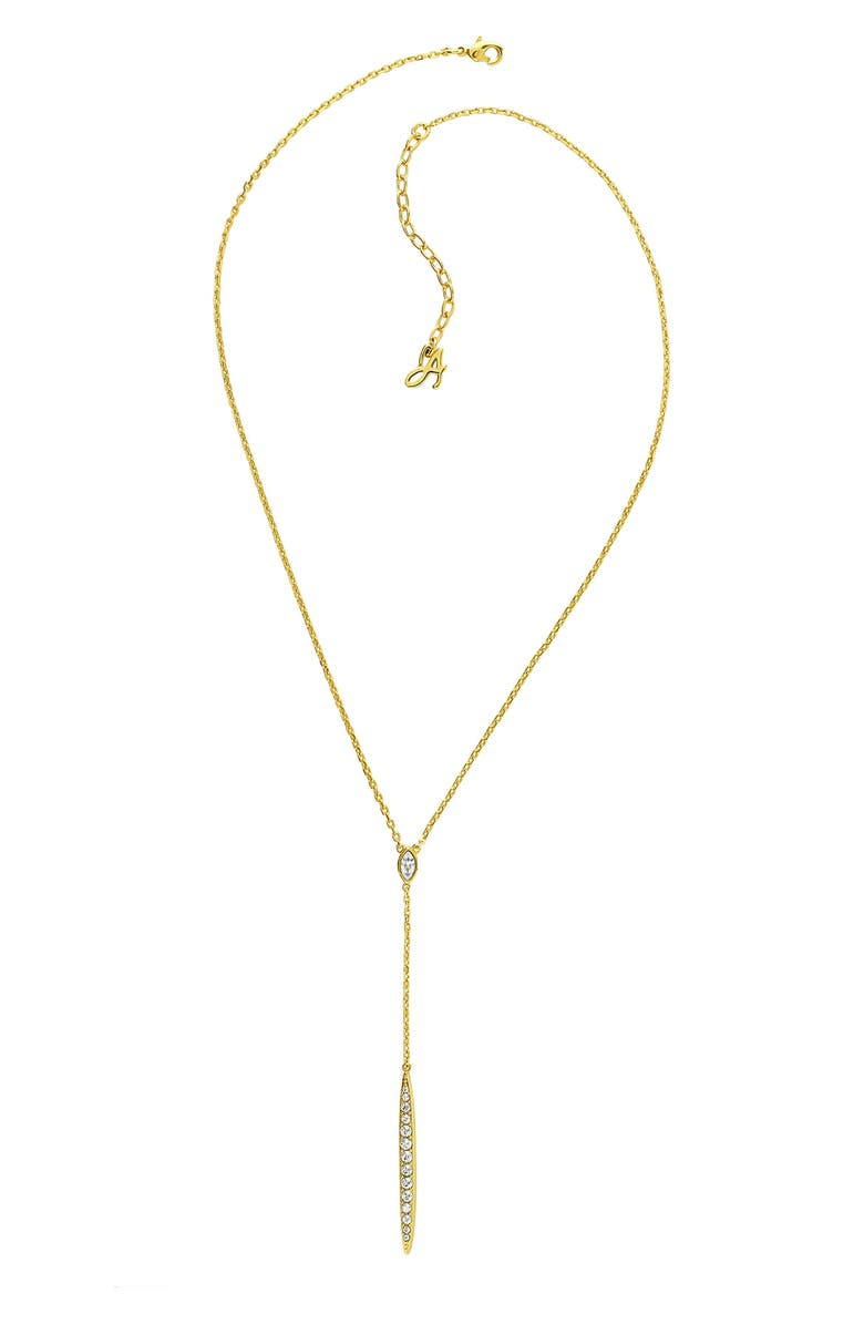 Adore PAVE CRYSTAL BAR NECKLACE