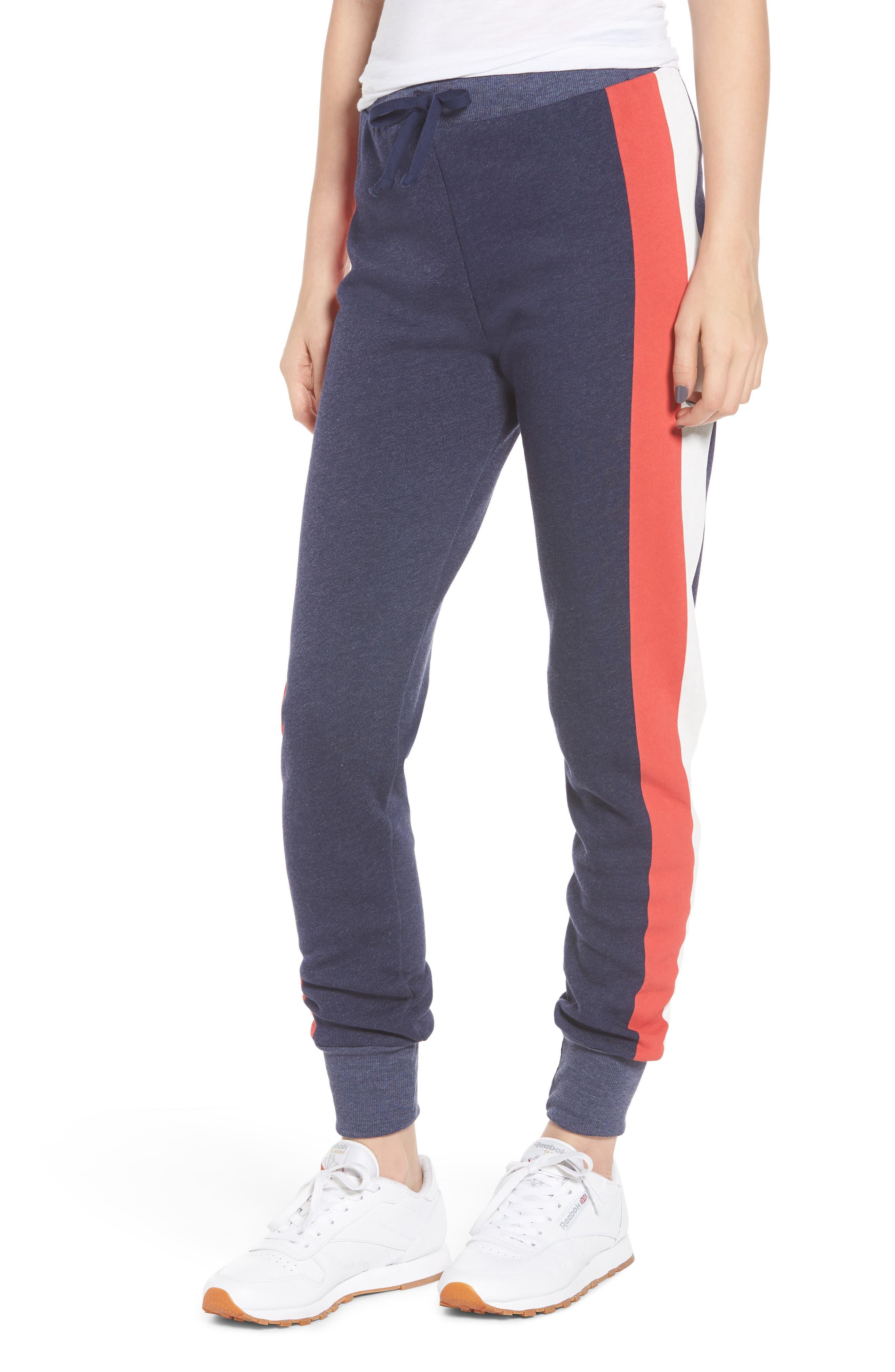Jack Jogger Side-Stripe Trousers in Oxford