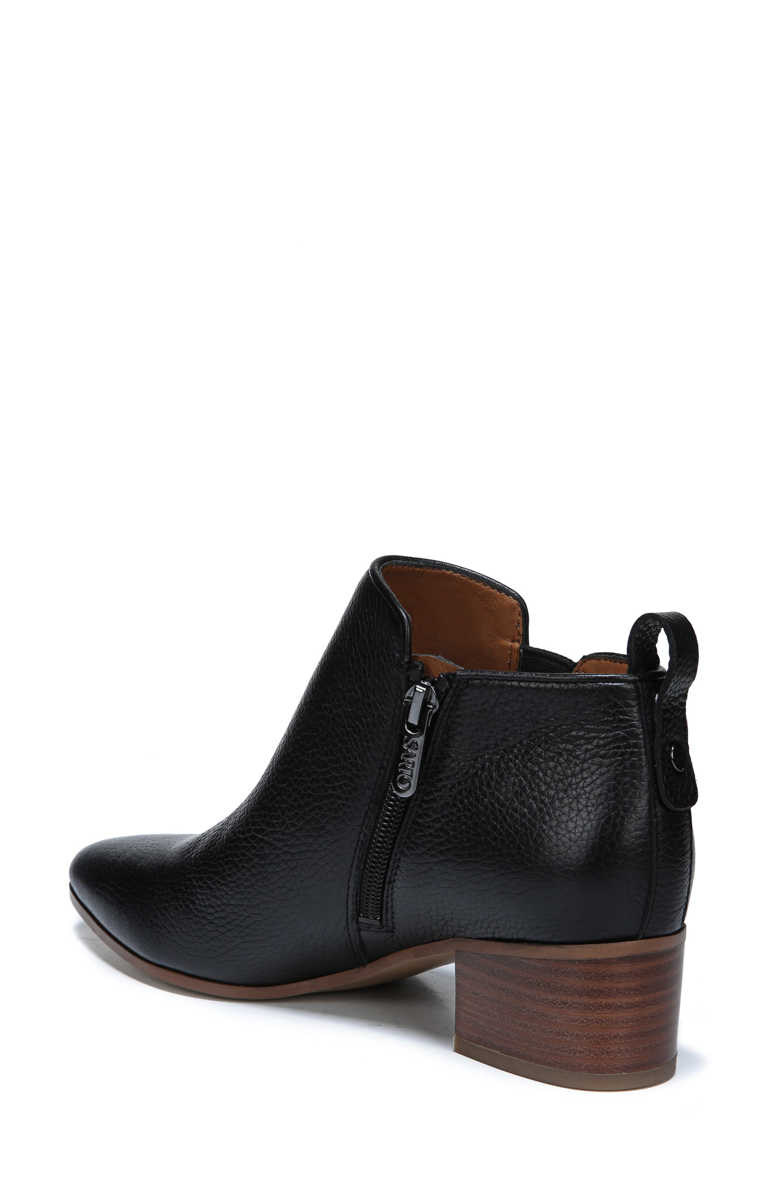 Jollie Bootie,                             Alternate thumbnail 2, color,                             BLACK LEATHER
