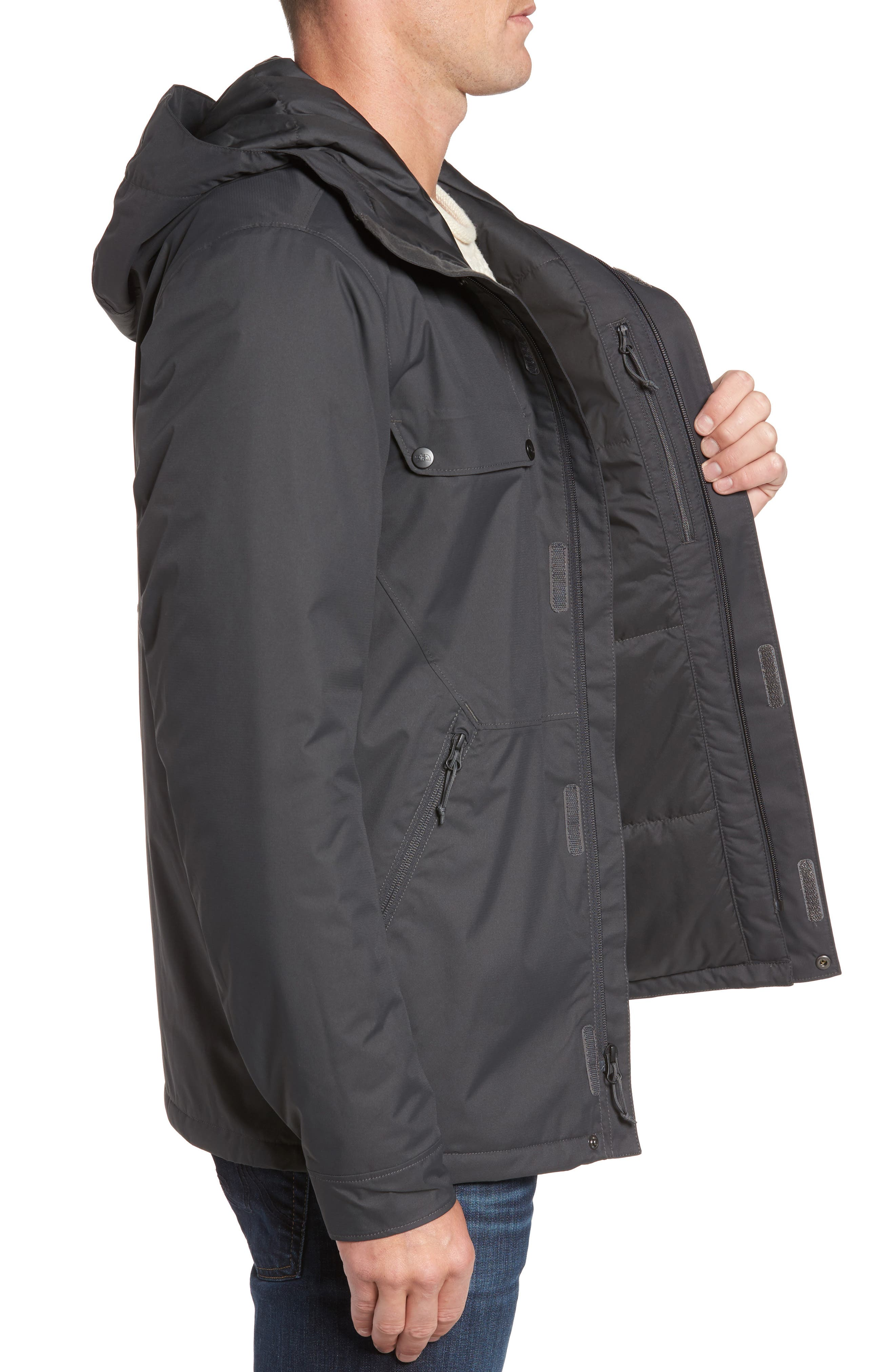 Jenison Insulated Waterproof Jacket,                             Alternate thumbnail 6, color,
