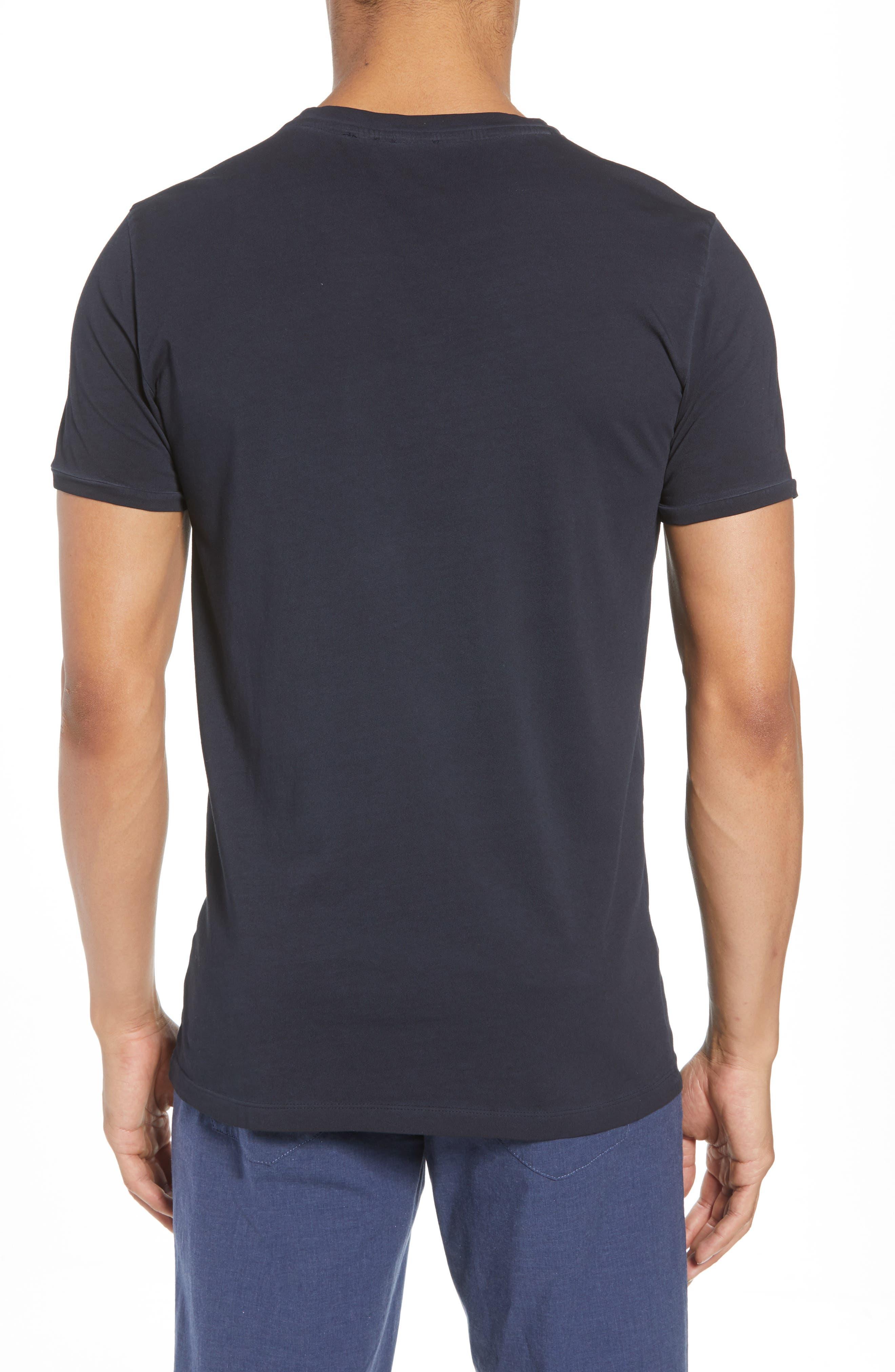 Troy Crewneck T-Shirt,                             Alternate thumbnail 4, color,