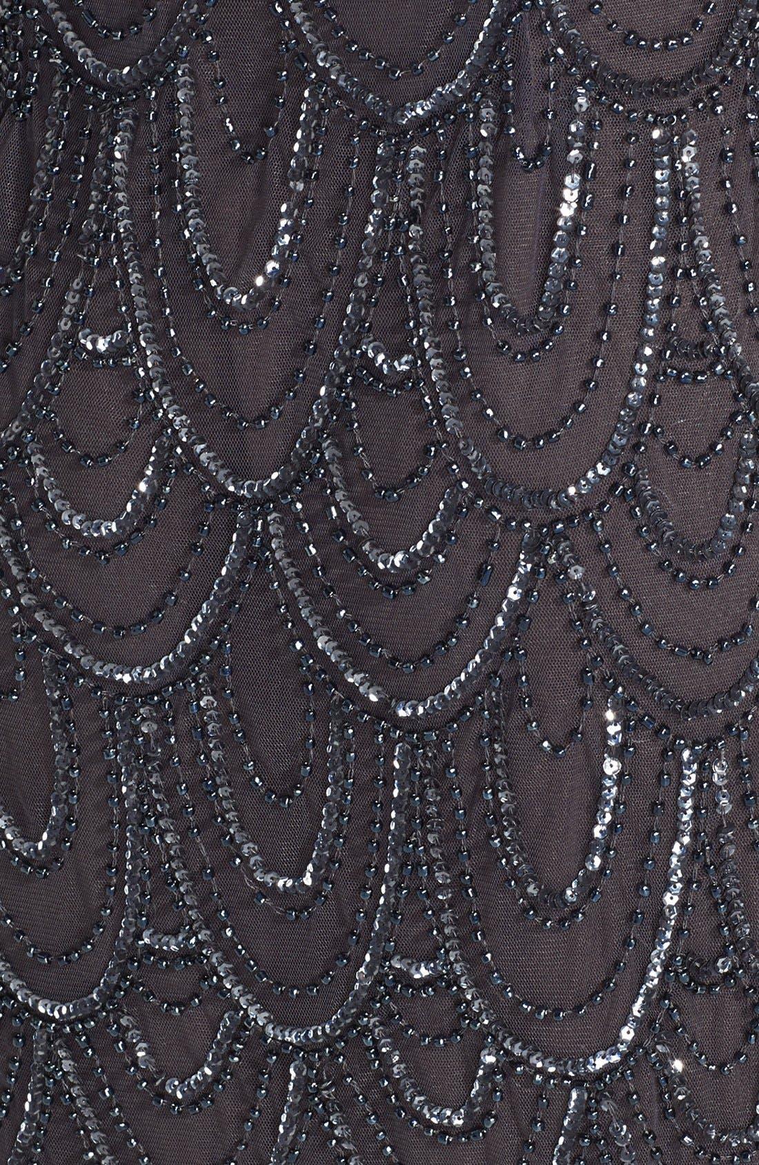 Embellished Mesh Sheath Dress,                             Alternate thumbnail 67, color,