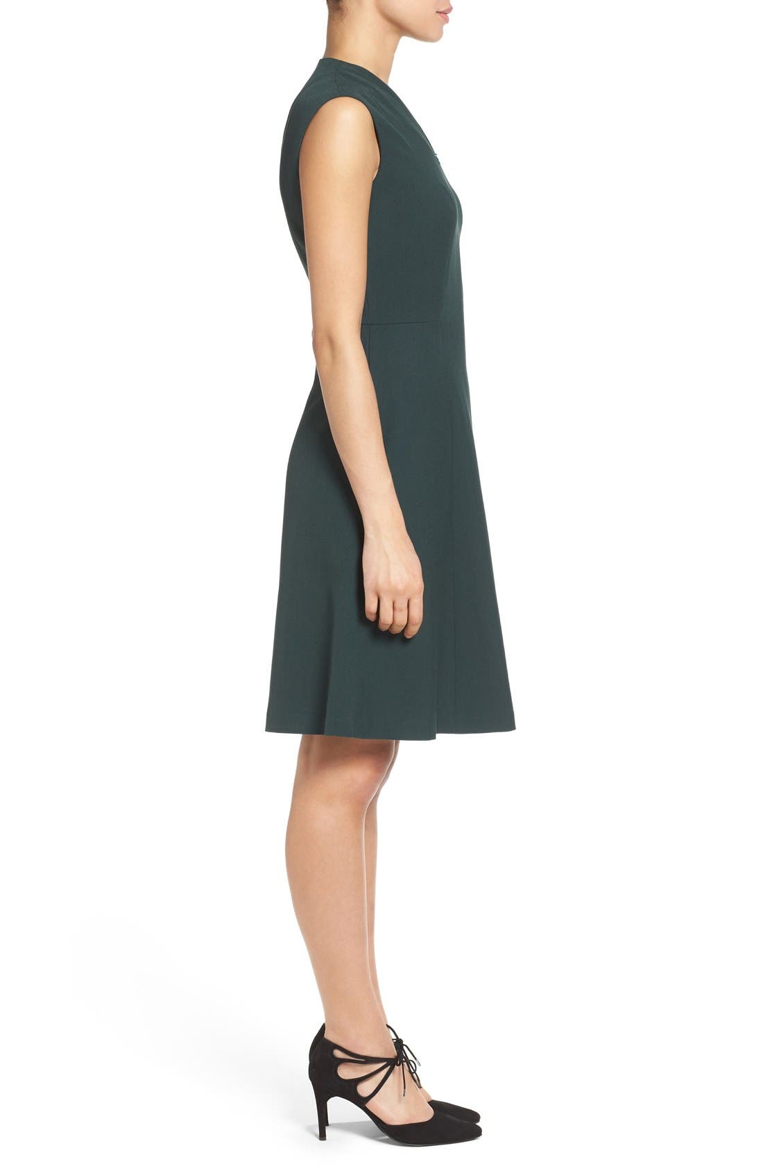 Fit & Flare Dress,                             Alternate thumbnail 11, color,