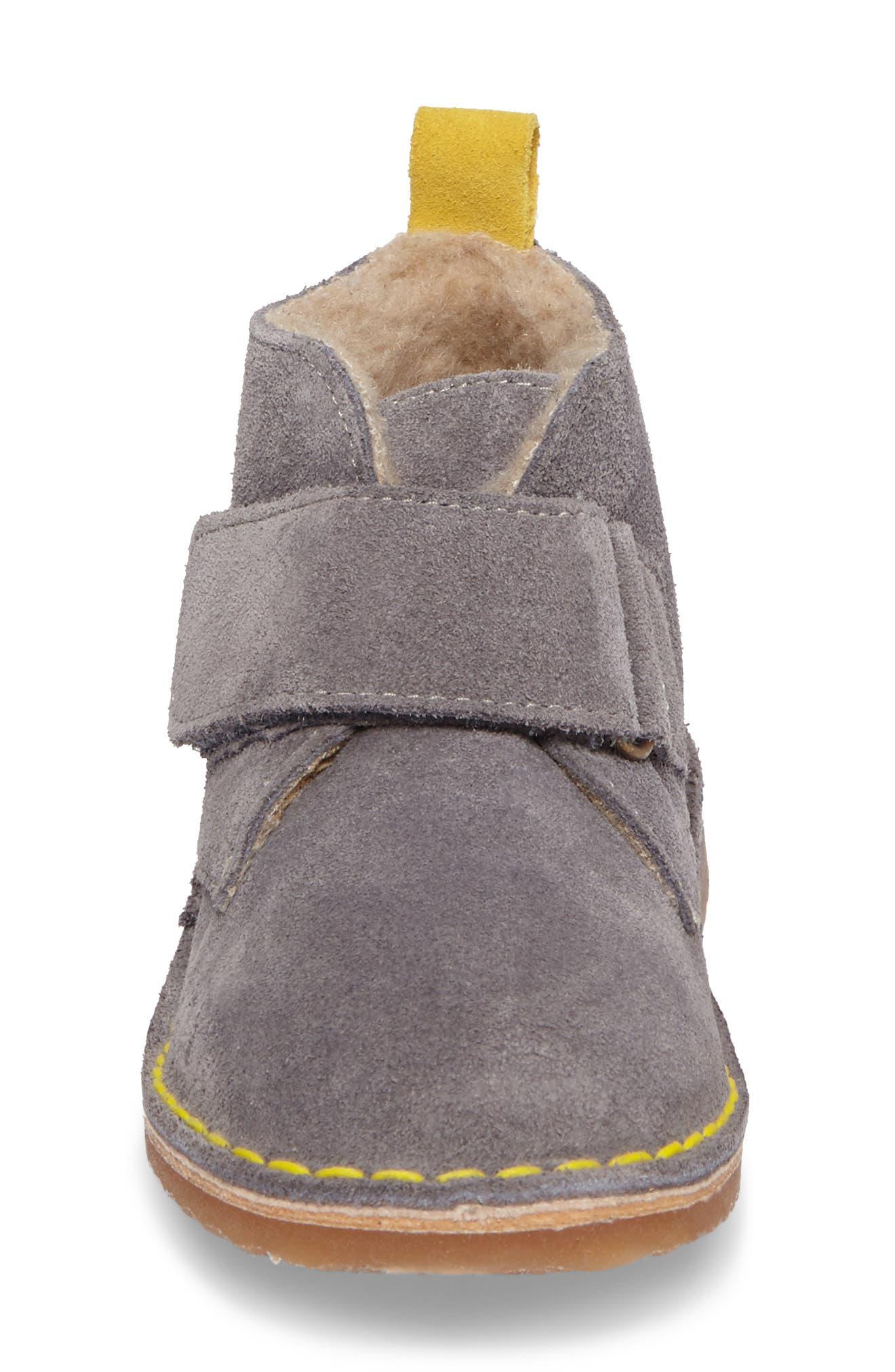 Faux Fur Desert Boot,                             Alternate thumbnail 4, color,                             034