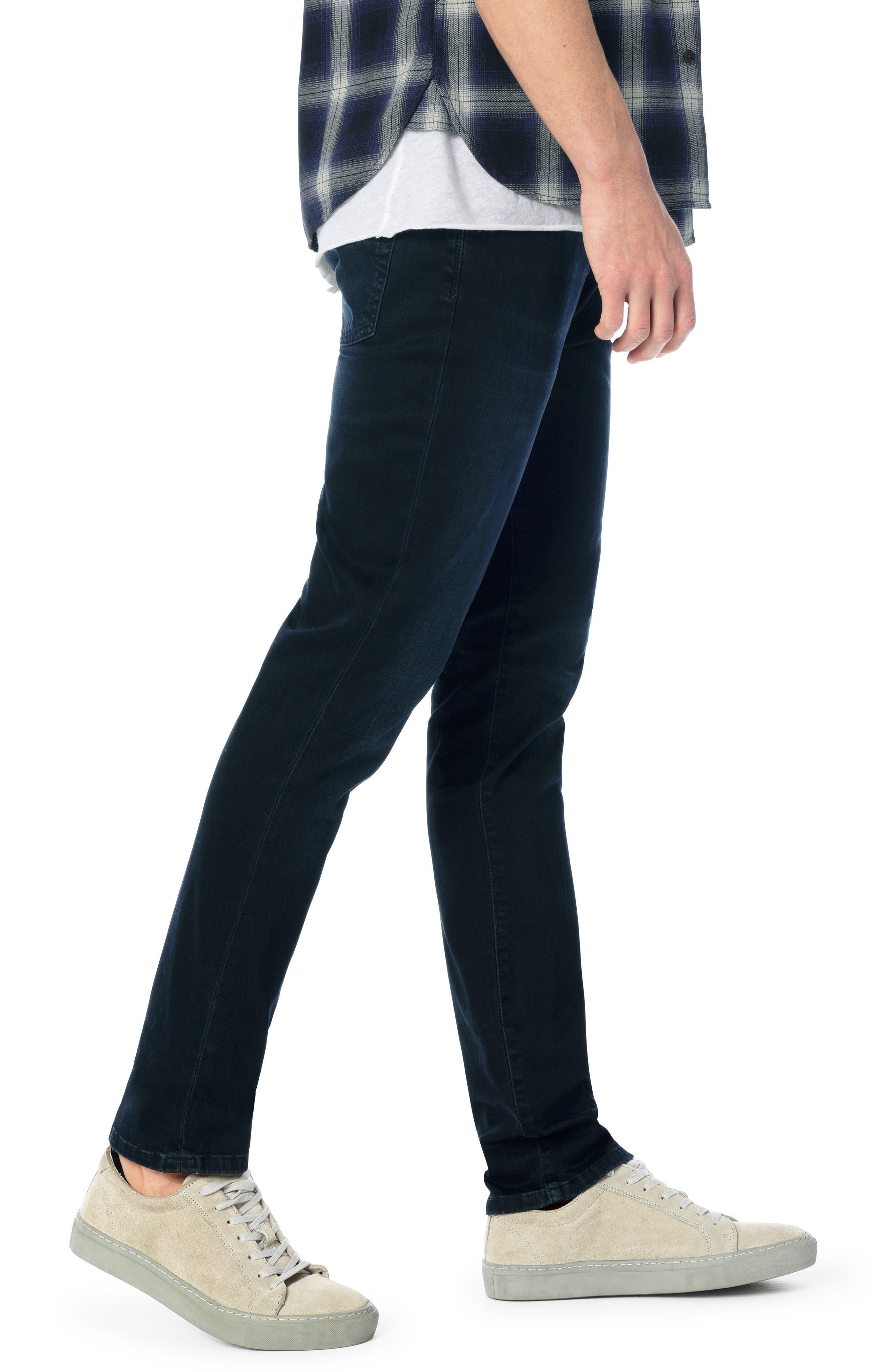 Brixton Slim Straight Leg Jeans,                             Alternate thumbnail 3, color,                             403