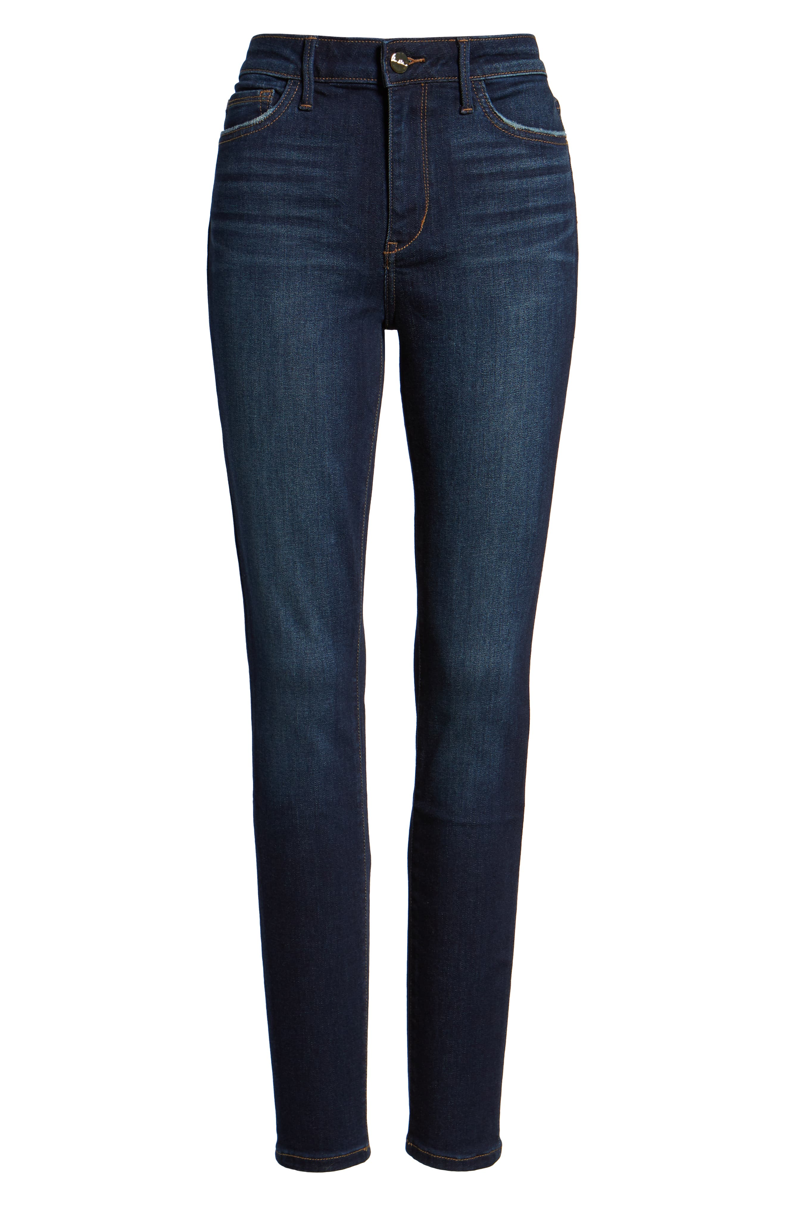 The Stiletto High Rise Skinny Jeans,                             Alternate thumbnail 4, color,                             EDDIE