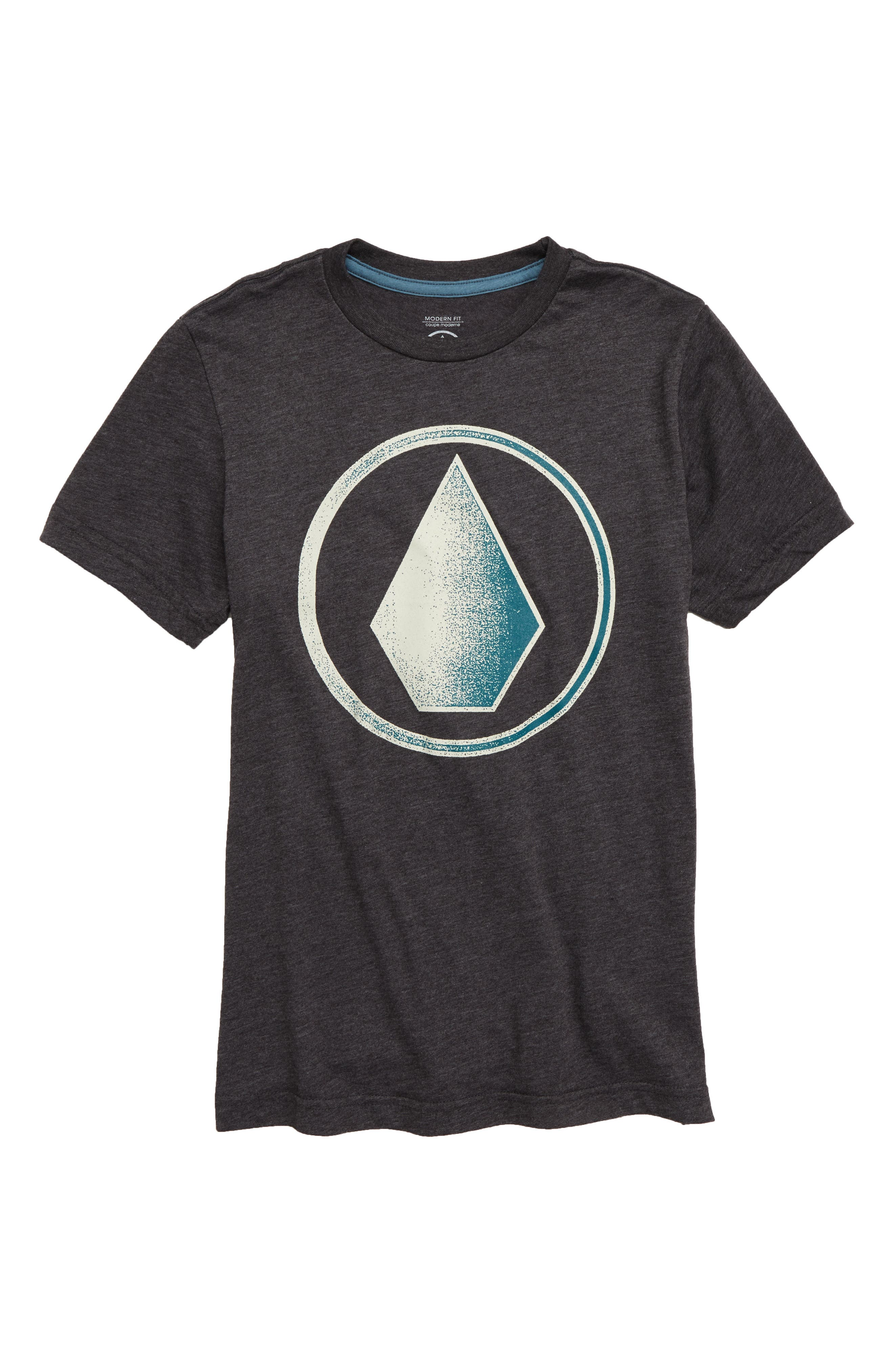 Removed Graphic T-Shirt,                             Main thumbnail 1, color,                             HEATHER BLUE
