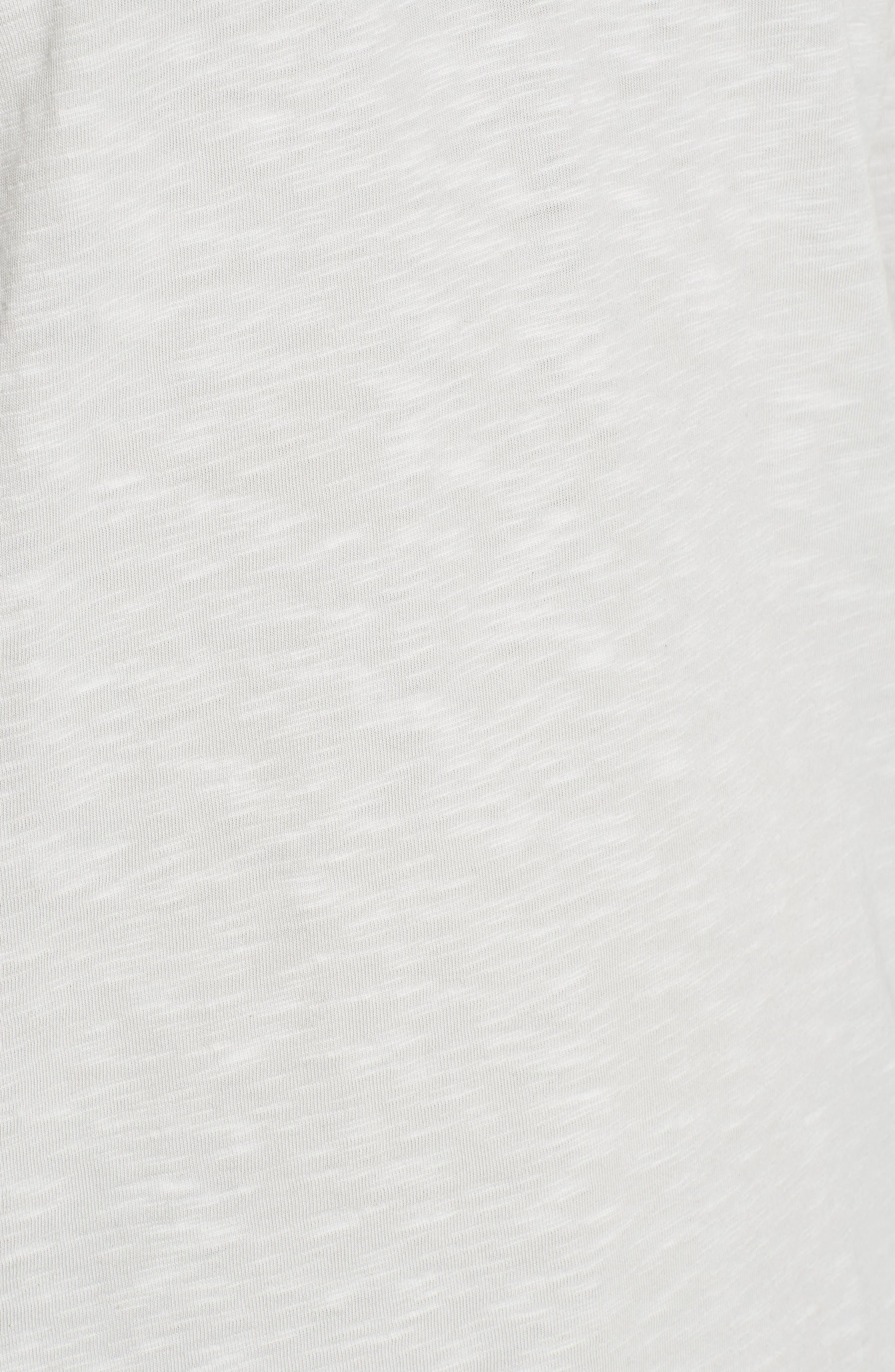 Cooper Slub Long Sleeve Henley,                             Alternate thumbnail 5, color,                             020
