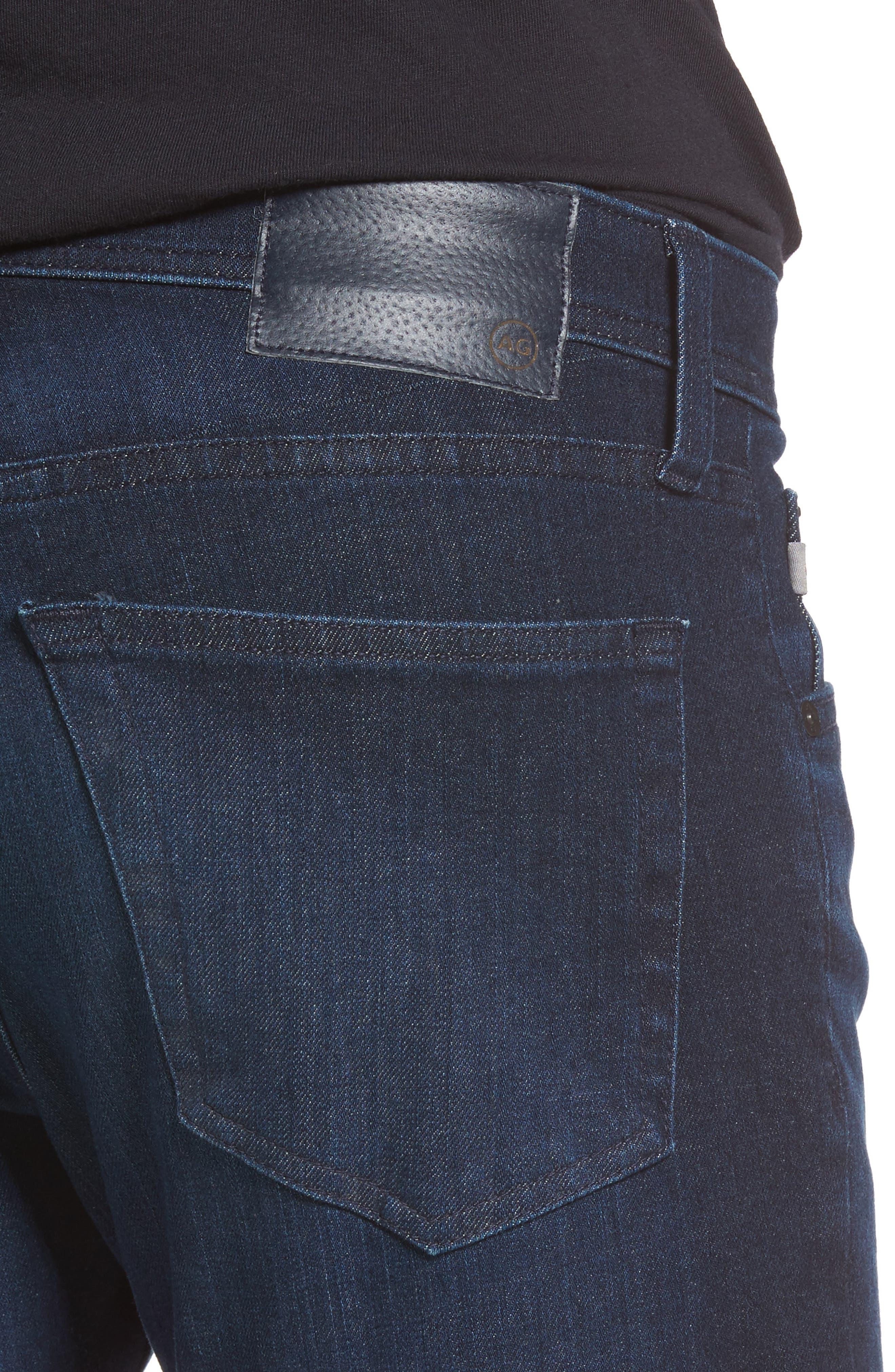 Stockton Skinny Fit Jeans,                             Alternate thumbnail 4, color,                             482