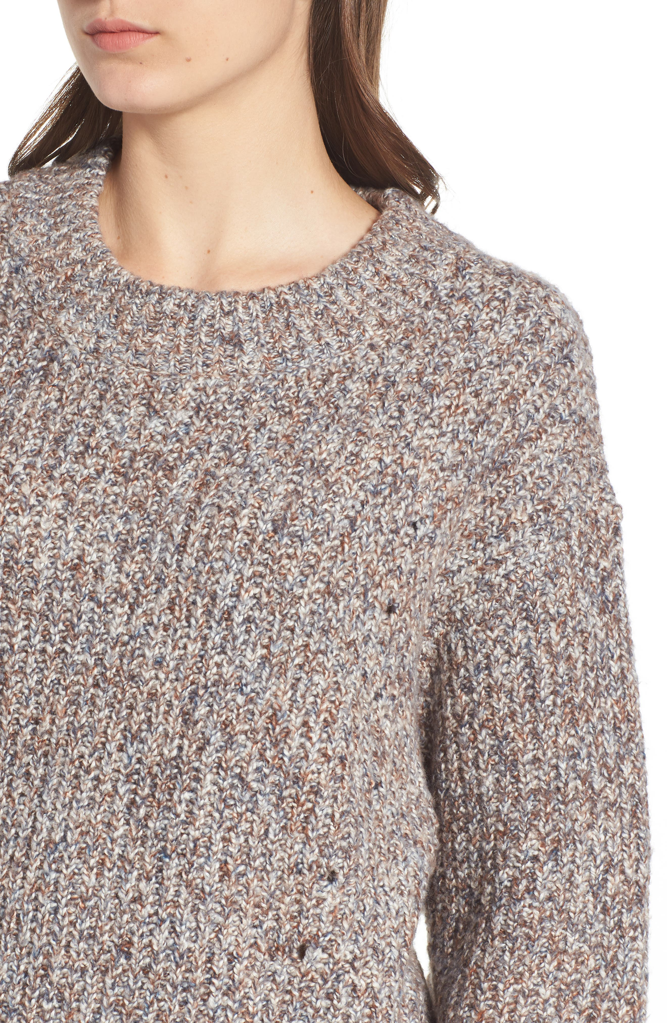 Heritage Stitch Sweater,                             Alternate thumbnail 4, color,                             021
