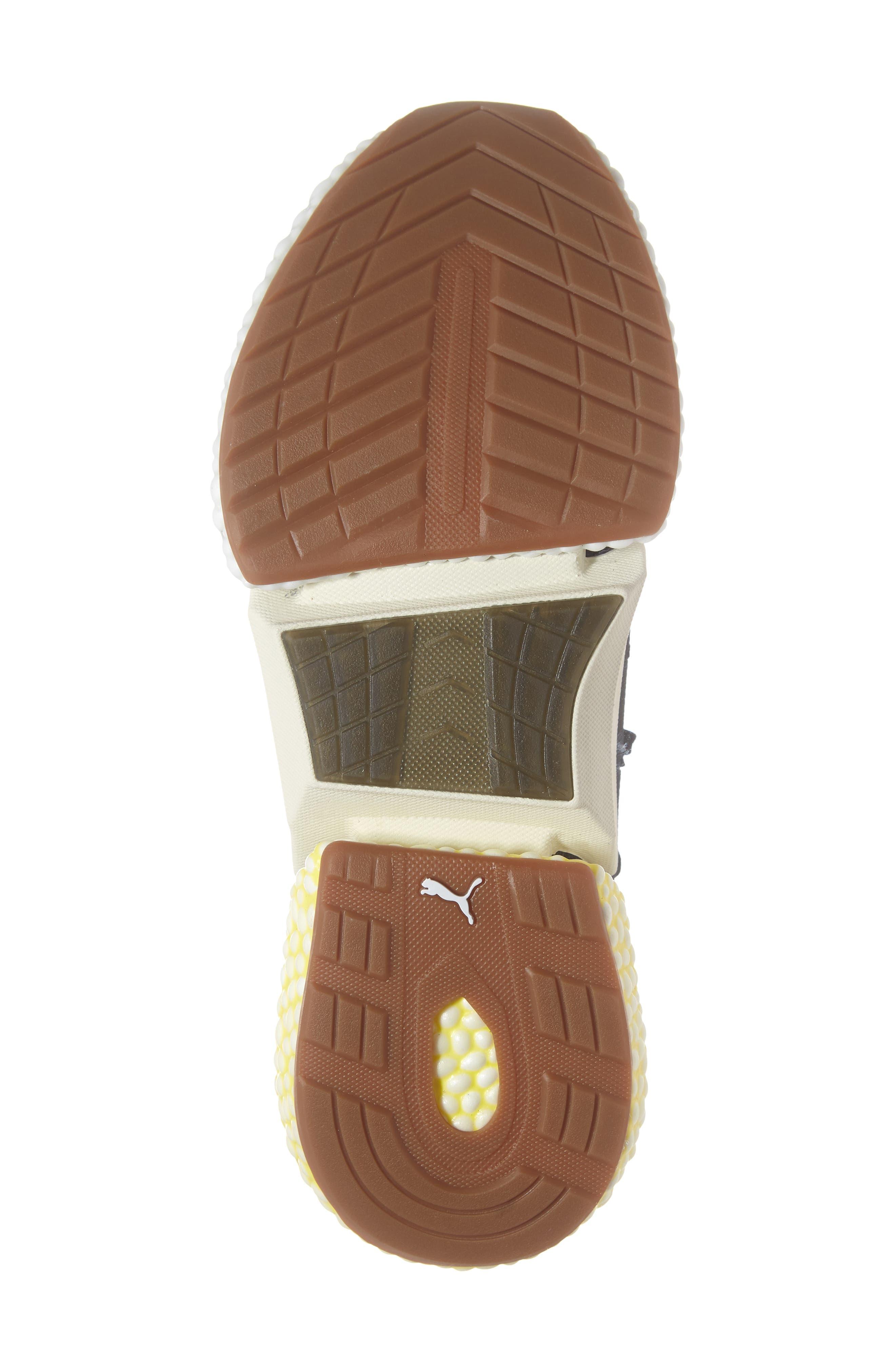 Hybrid Rocket Runner Sneaker,                             Alternate thumbnail 6, color,                             BLACK/ WHITE/ BLAZING YELLOW