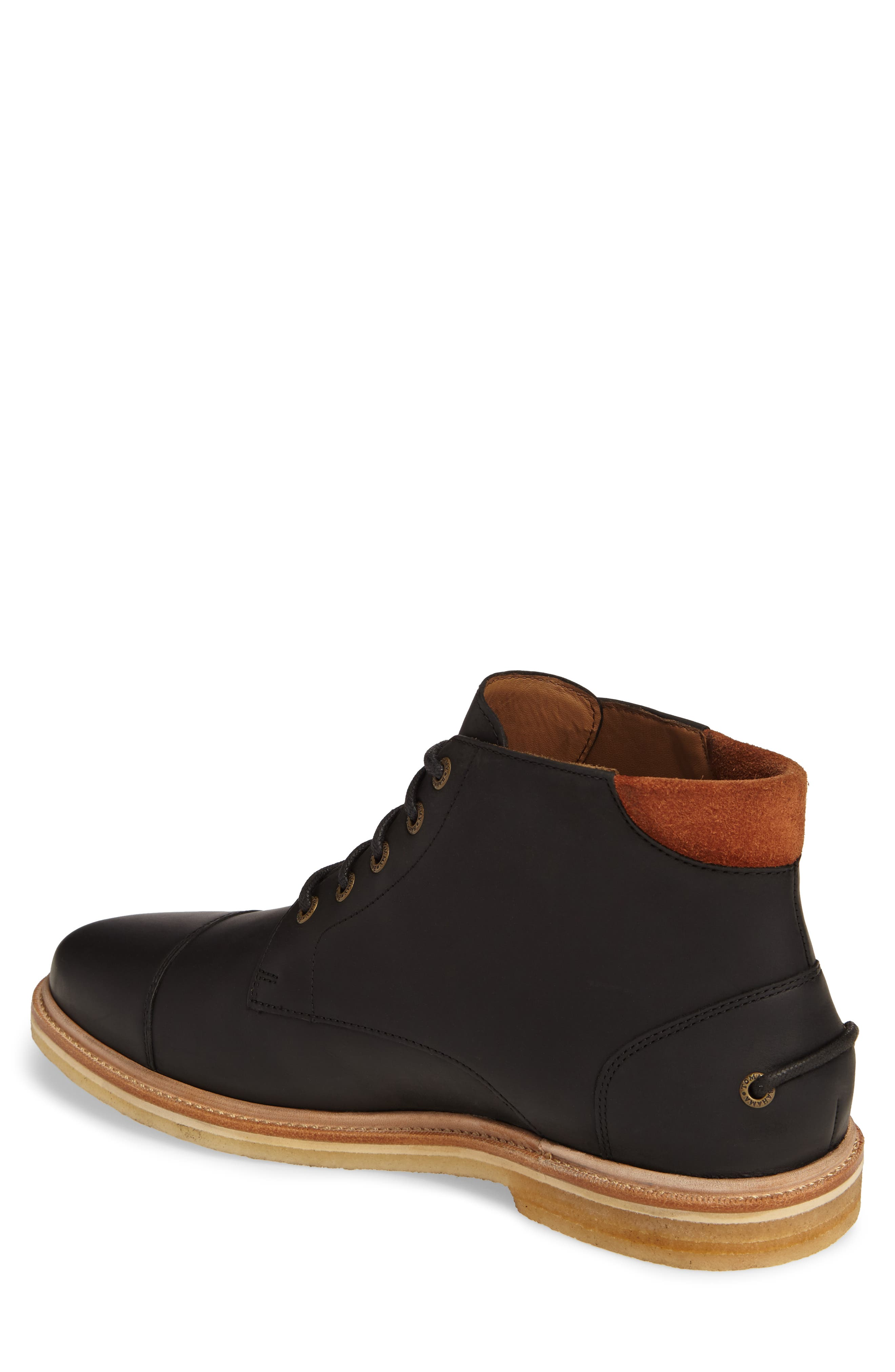 Argon Blooms Cap Toe Boot,                             Alternate thumbnail 2, color,                             001