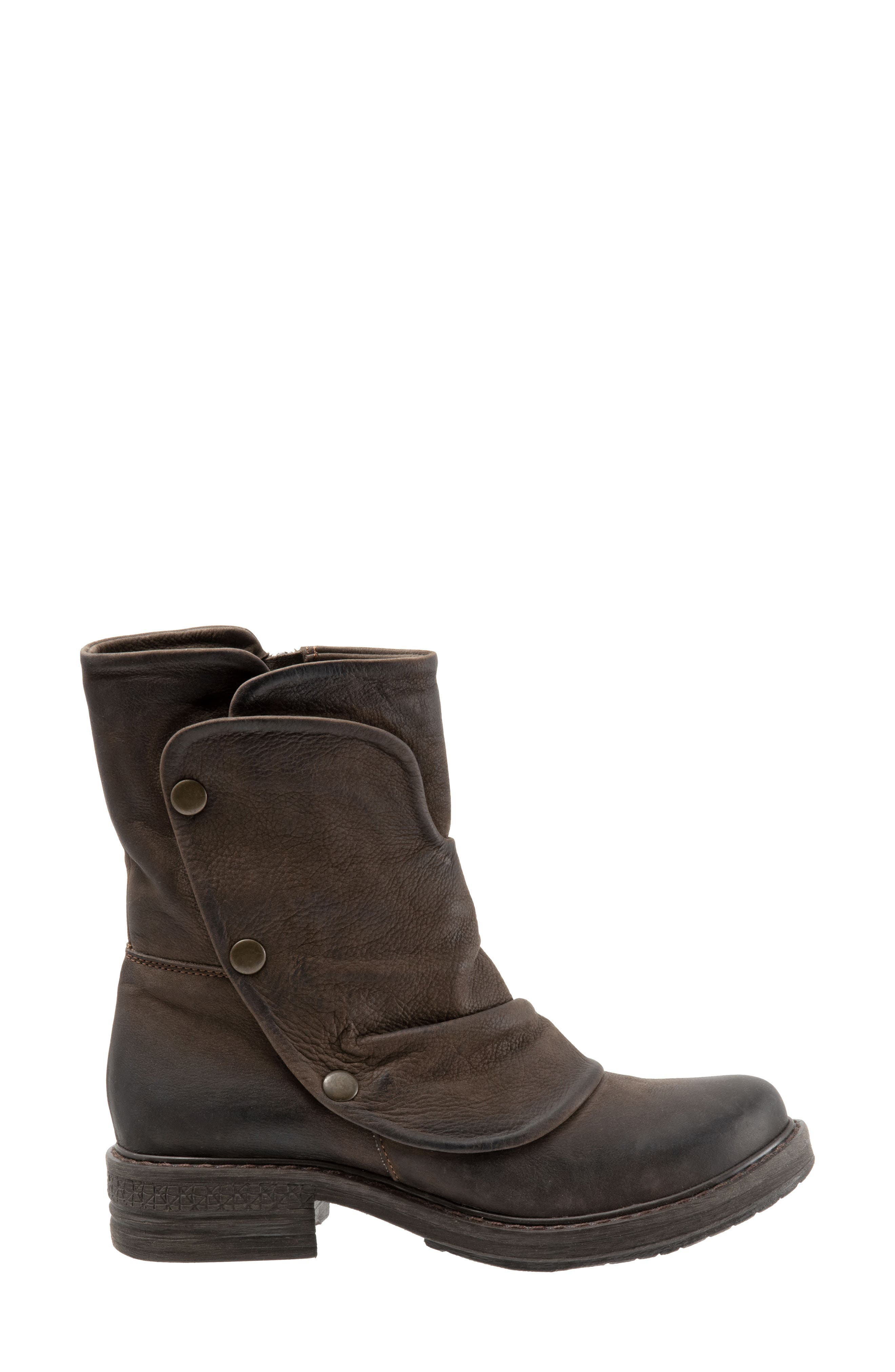 Greta Boot,                             Alternate thumbnail 3, color,                             BROWN NUBUCK