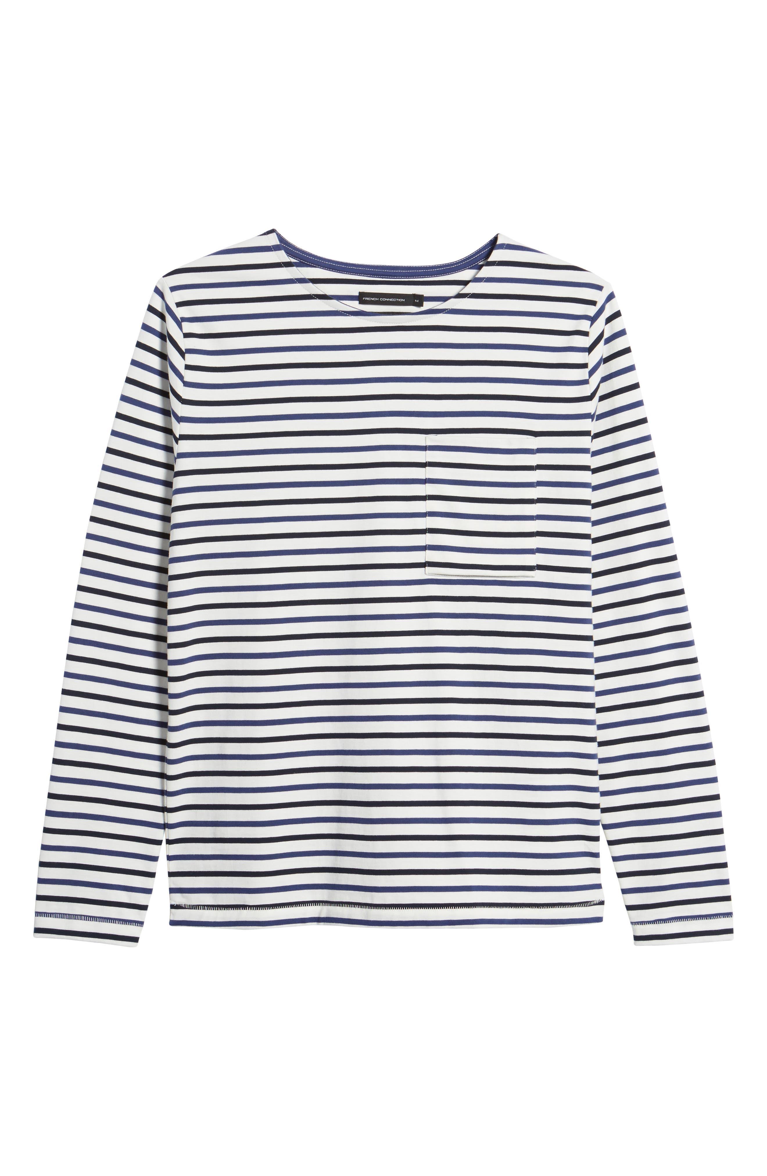 Slim Fit Franstripe Shirt,                             Alternate thumbnail 6, color,                             410