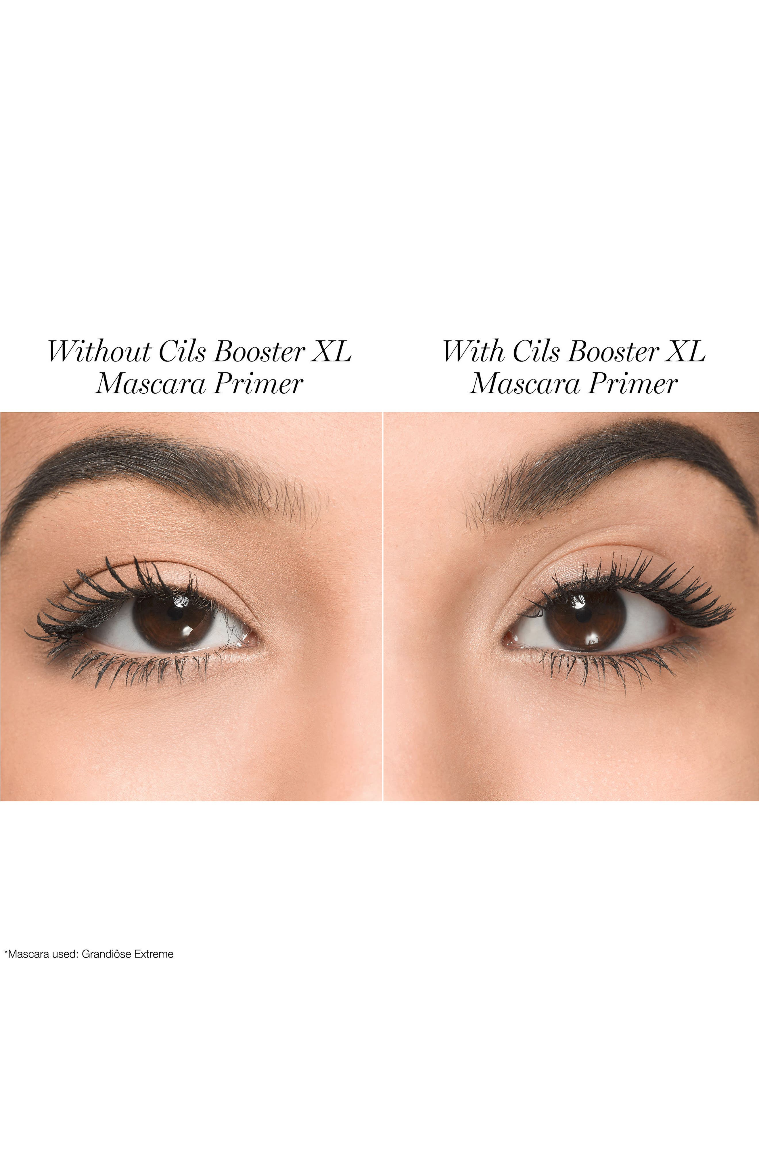 LANCÔME,                             Cils Booster XL Super Enhancing Mascara Base,                             Alternate thumbnail 2, color,                             NO COLOR