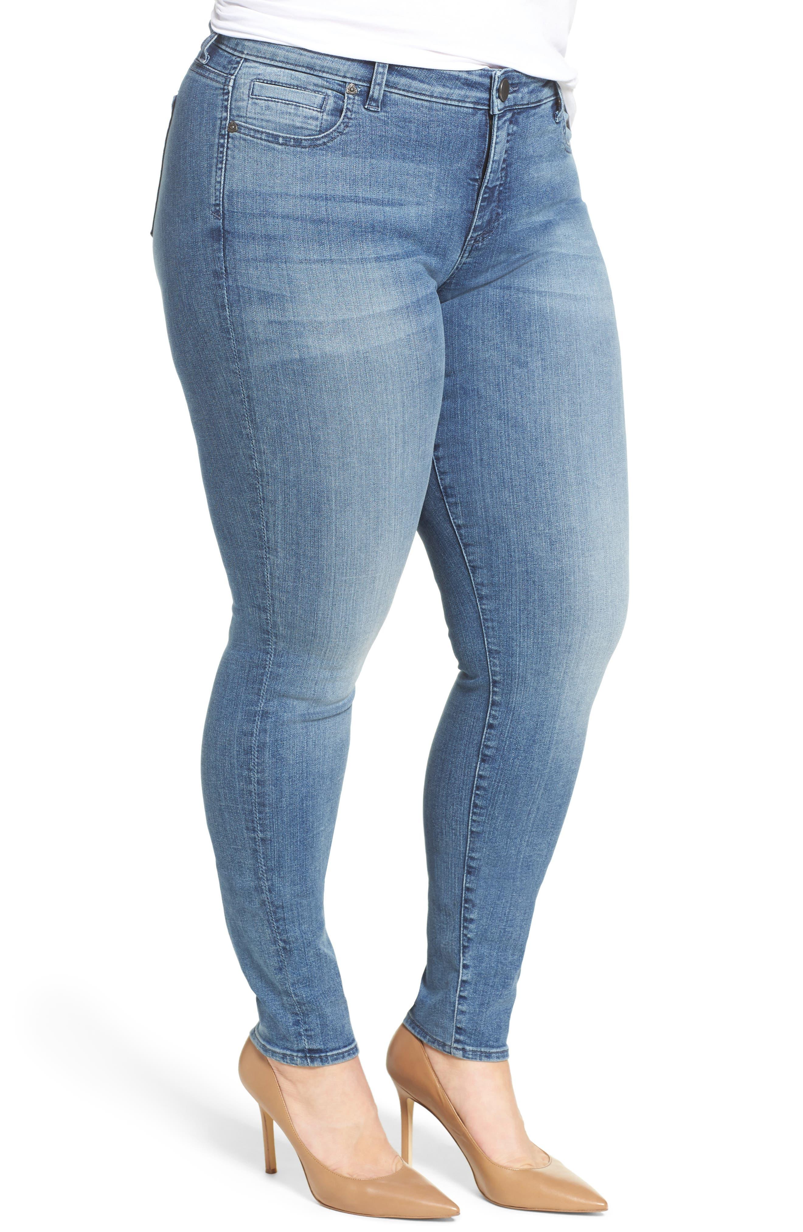 Diana Skinny Jeans,                             Alternate thumbnail 3, color,