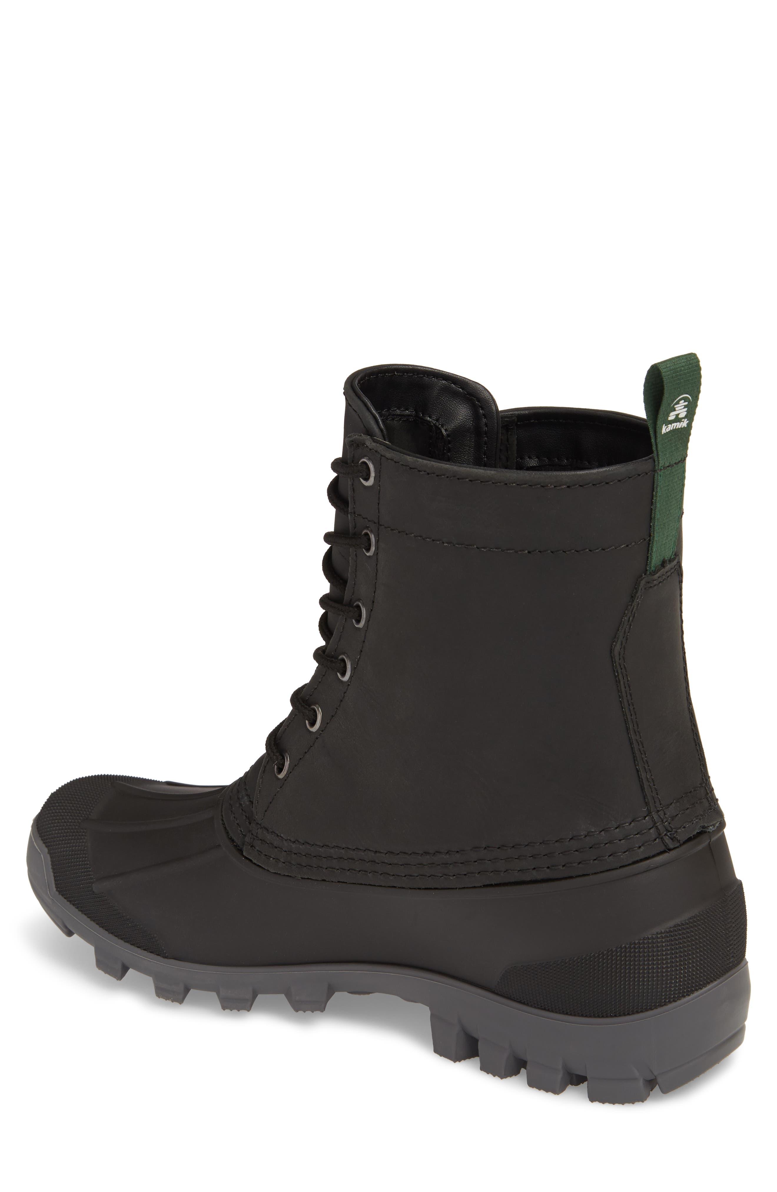 Yukon 6 Waterproof Insulated Three-Season Boot,                             Alternate thumbnail 2, color,                             001