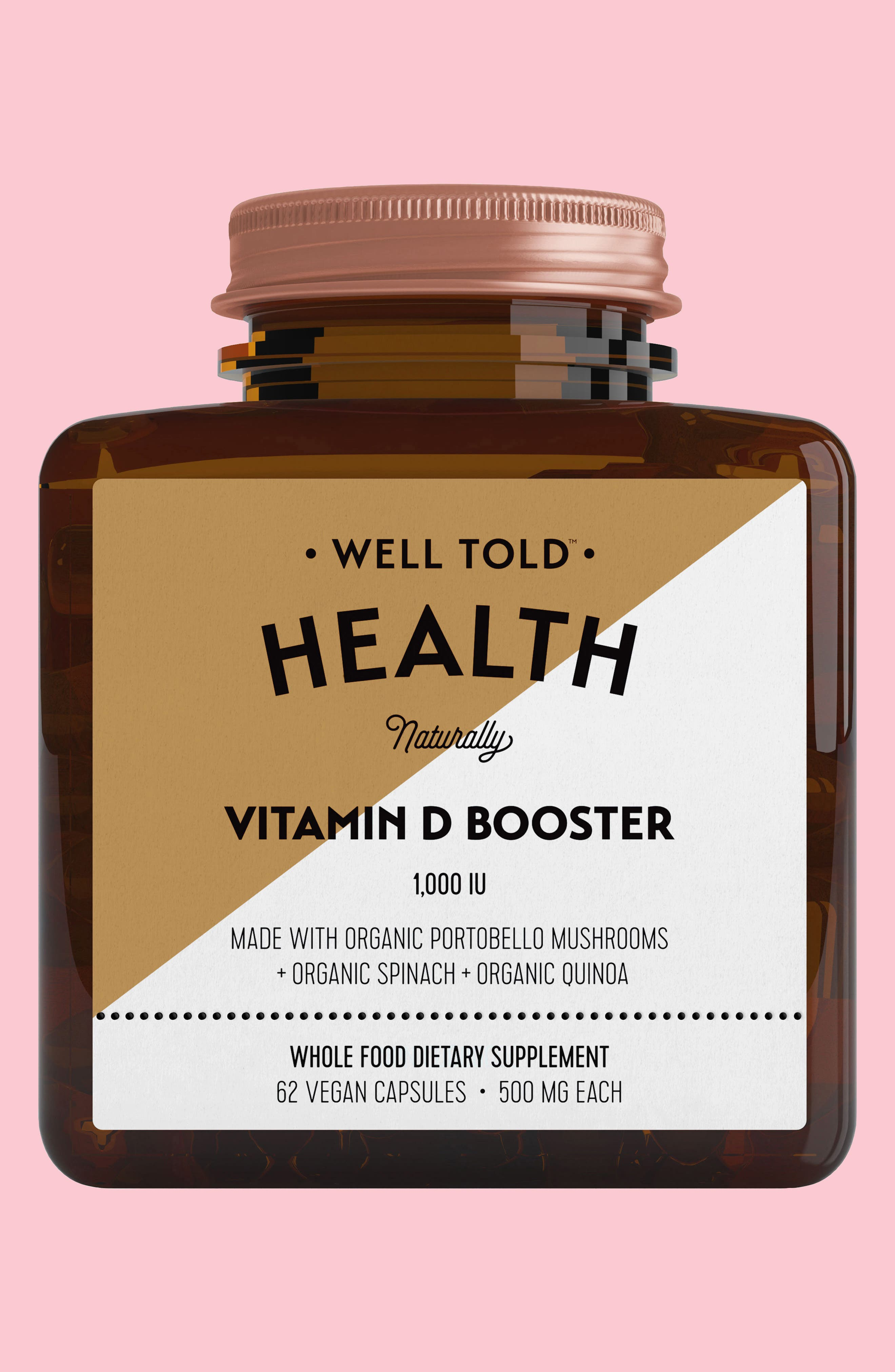 Vitamin D Booster Dietary Supplement,                             Main thumbnail 1, color,                             200