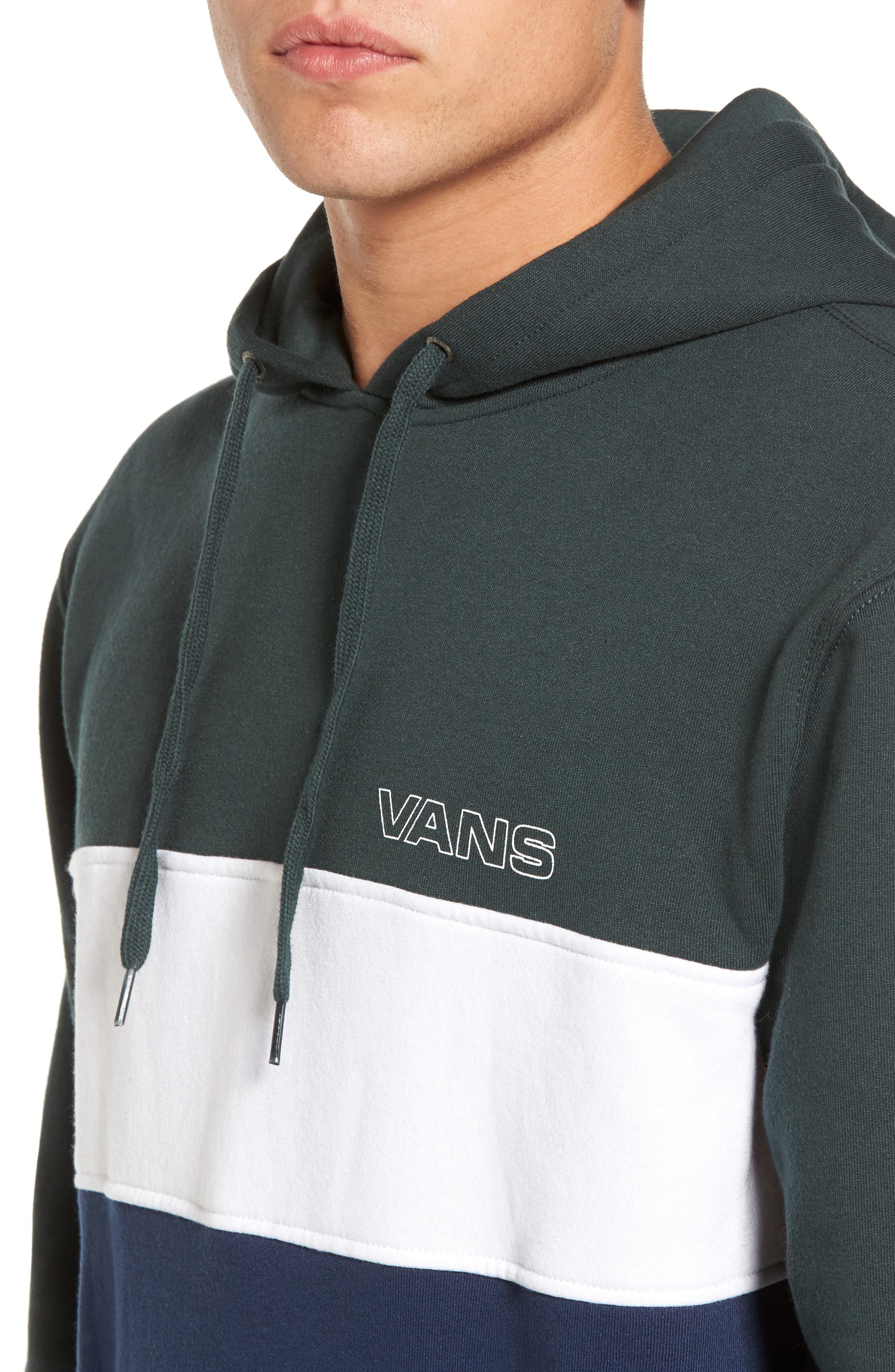 Starboard Fleece Pullover Hoodie,                             Alternate thumbnail 4, color,