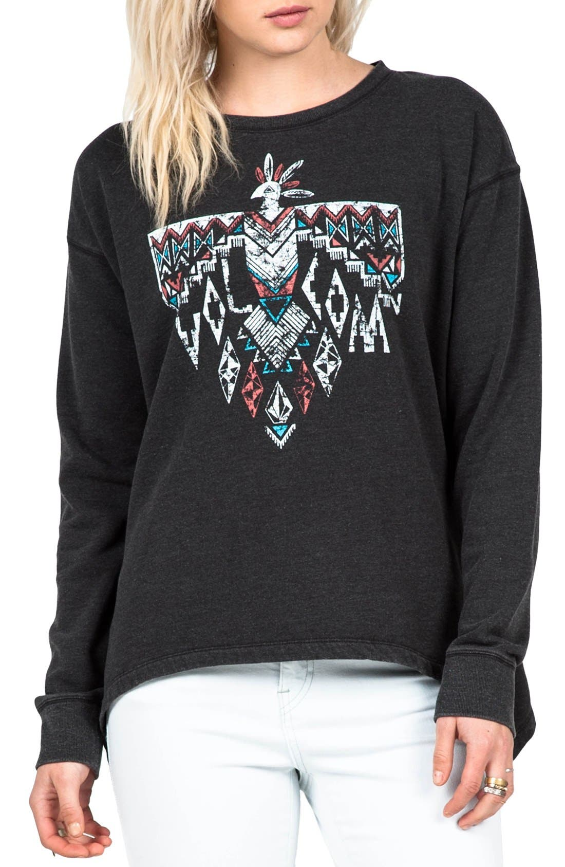 'Revolver' Graphic Pullover,                             Main thumbnail 1, color,                             001
