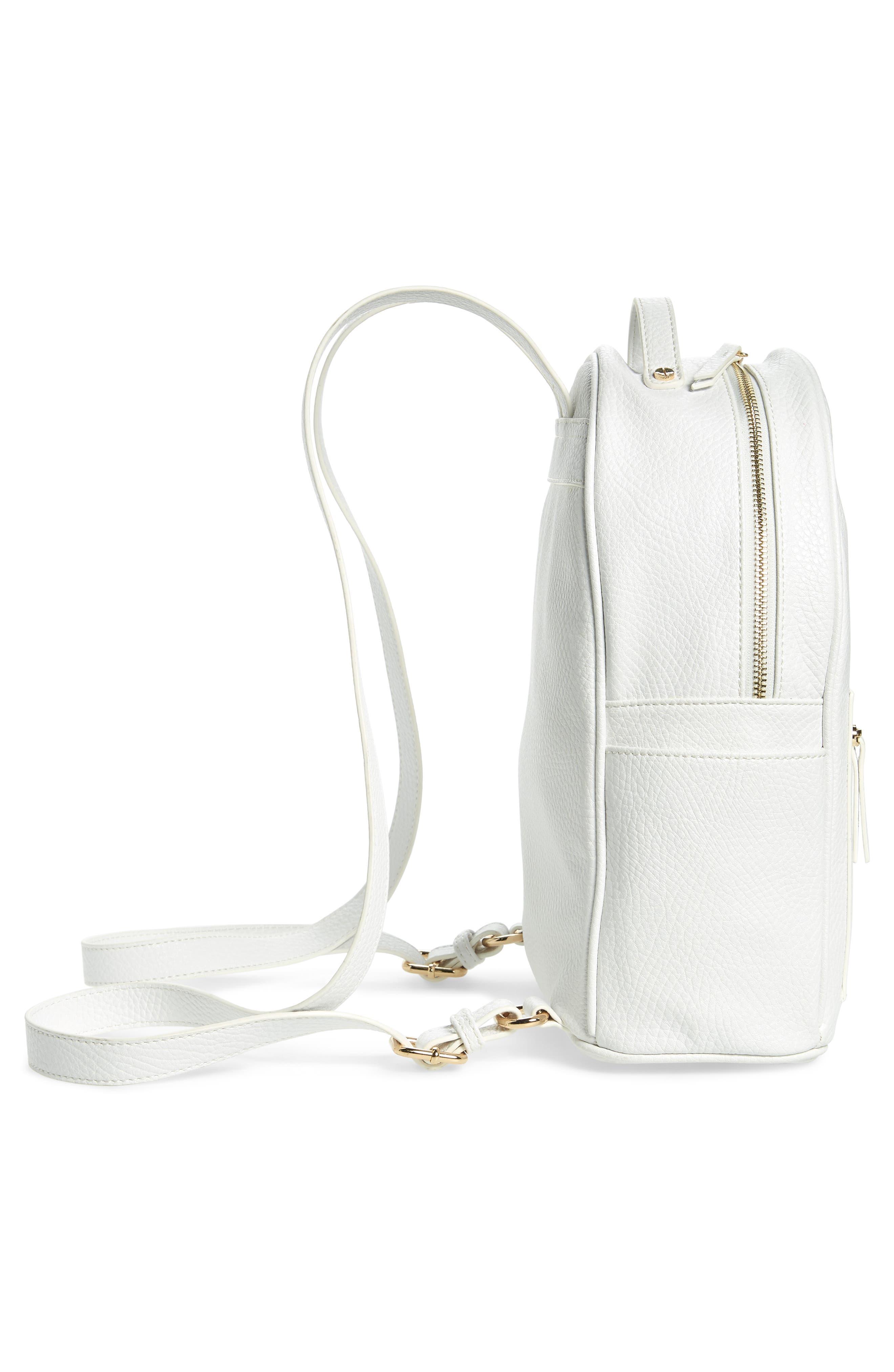 Mali + Lili Madison Vegan Leather Backpack,                             Alternate thumbnail 11, color,