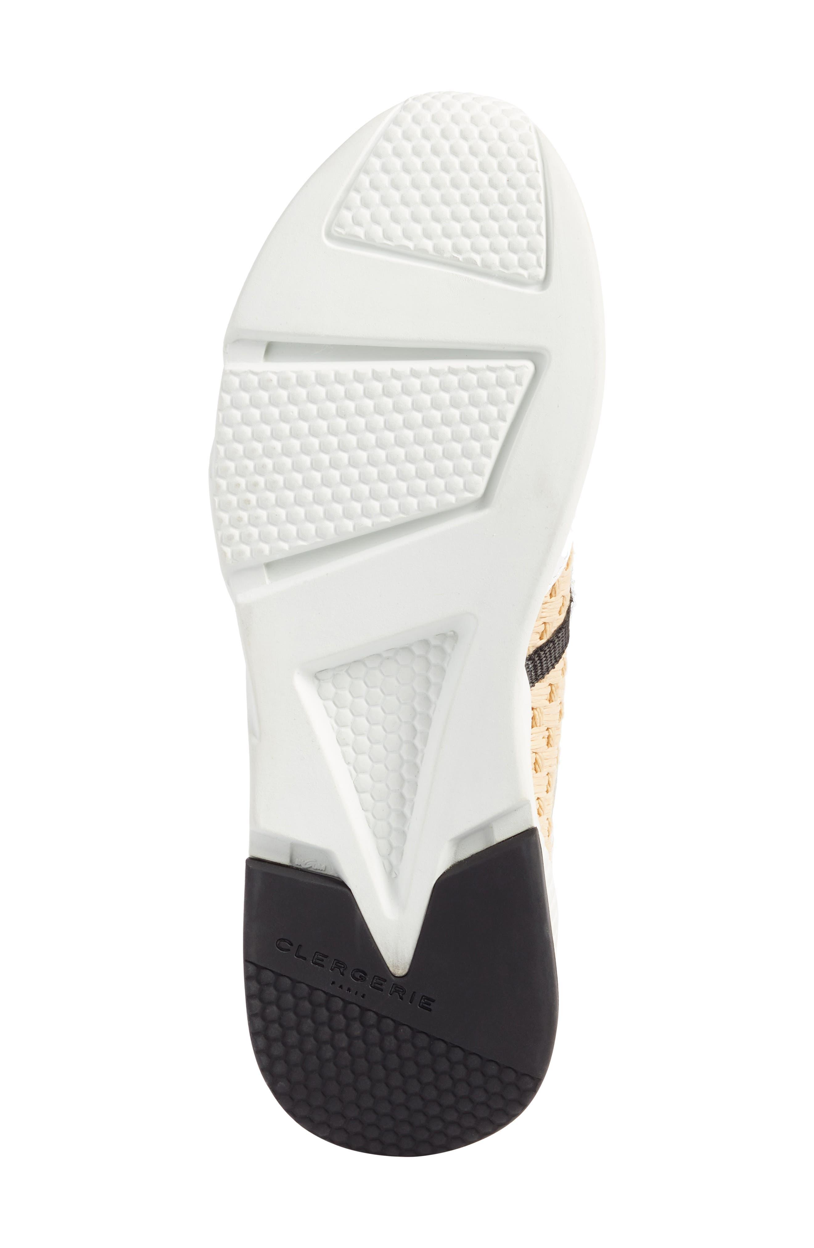 Salvy Woven Sneaker,                             Alternate thumbnail 6, color,                             100