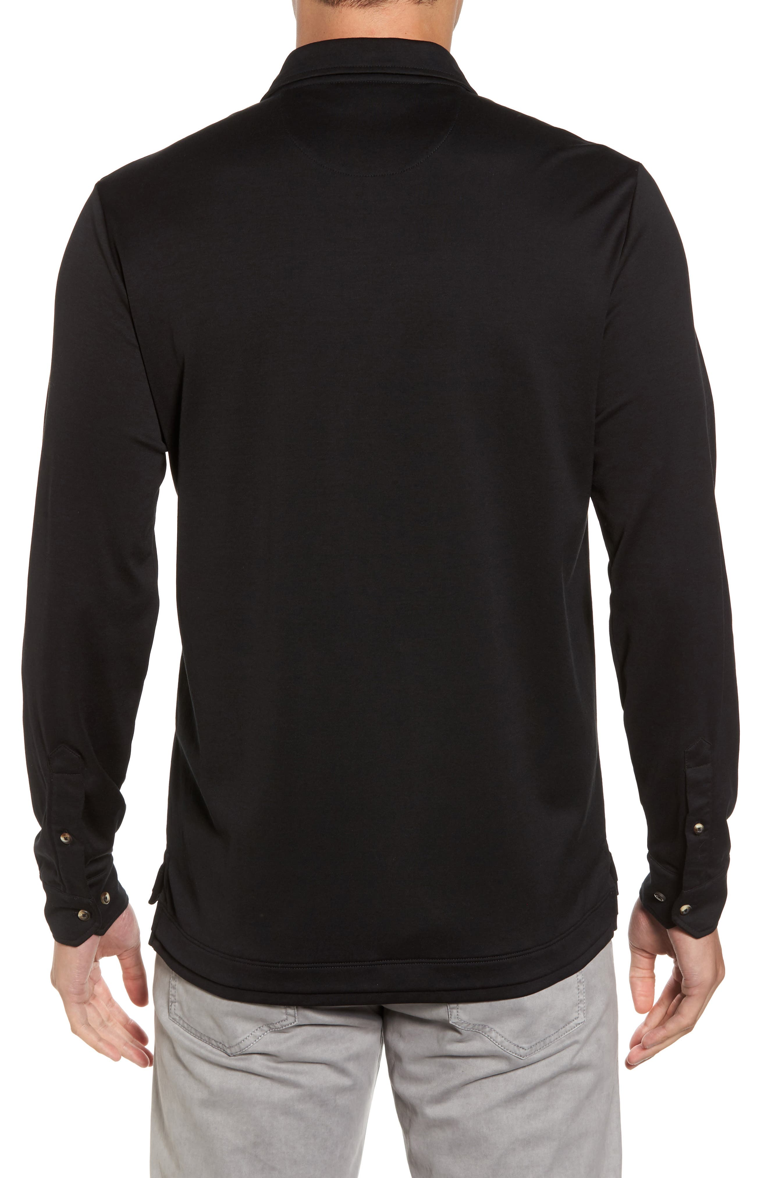Interlock Knit Sport Shirt,                             Alternate thumbnail 2, color,                             002