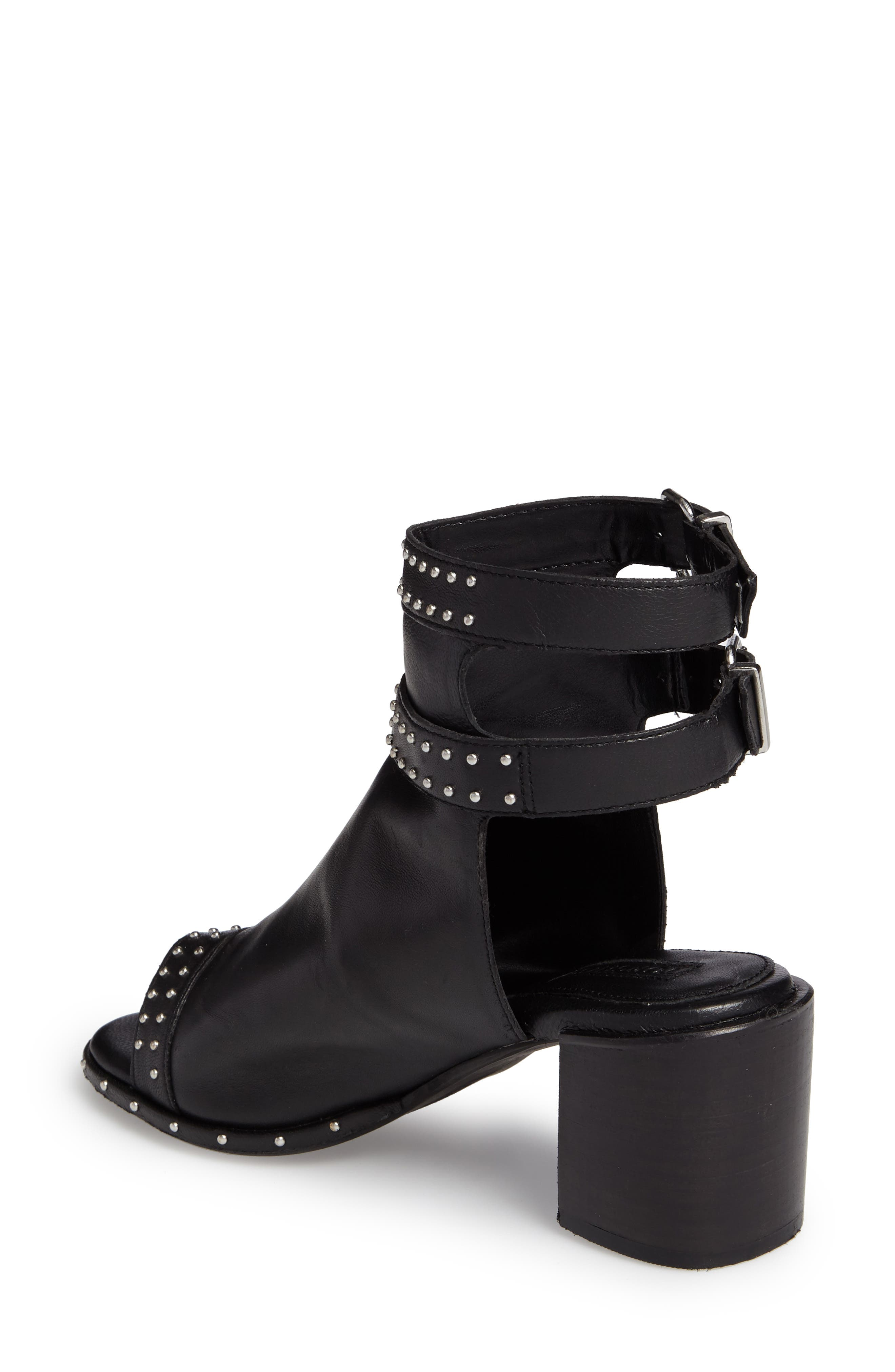 North Studded Bootie Sandal,                             Alternate thumbnail 2, color,                             001