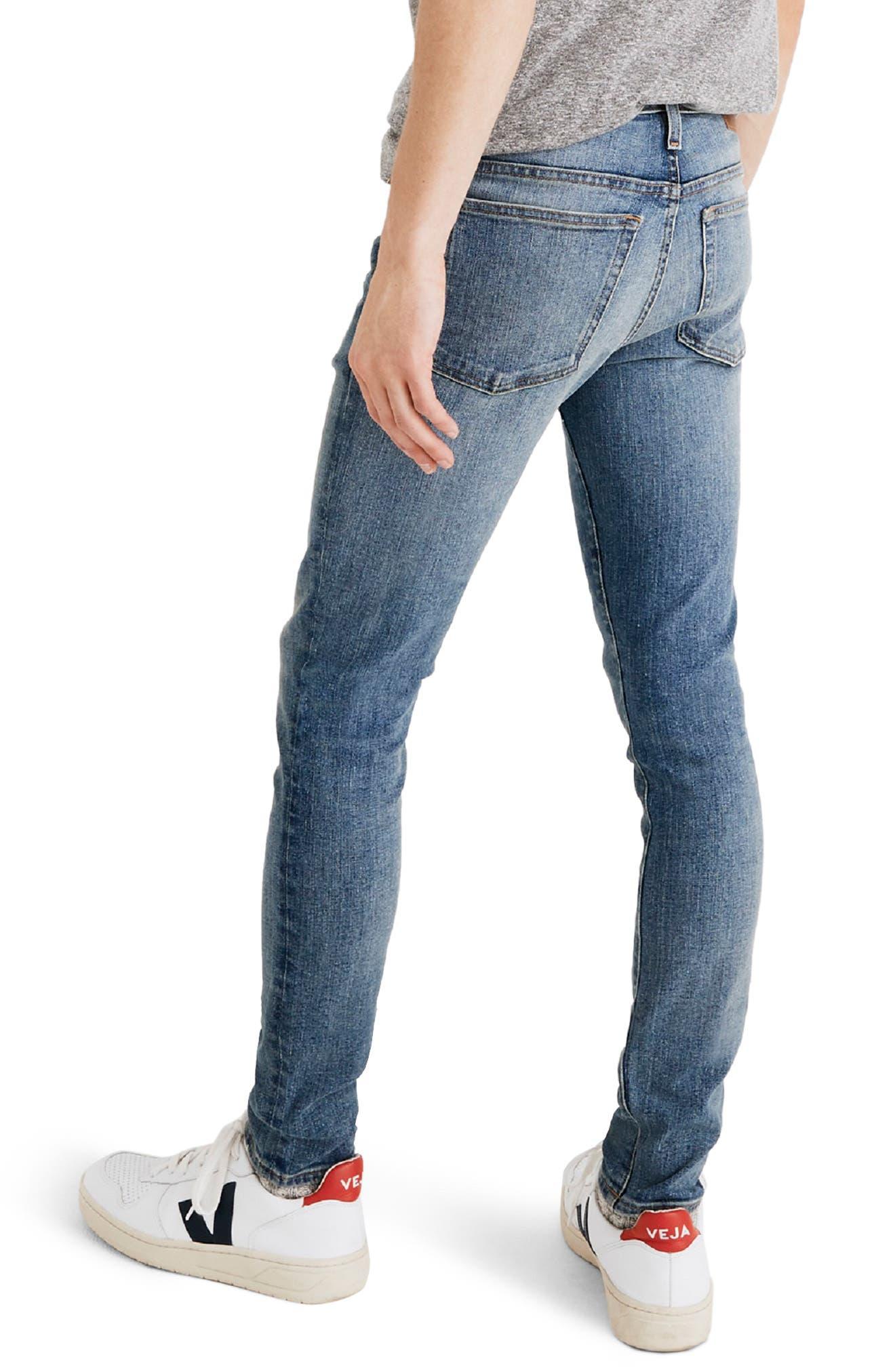 Skinny Jeans,                             Alternate thumbnail 2, color,                             BAYWOOD WASH