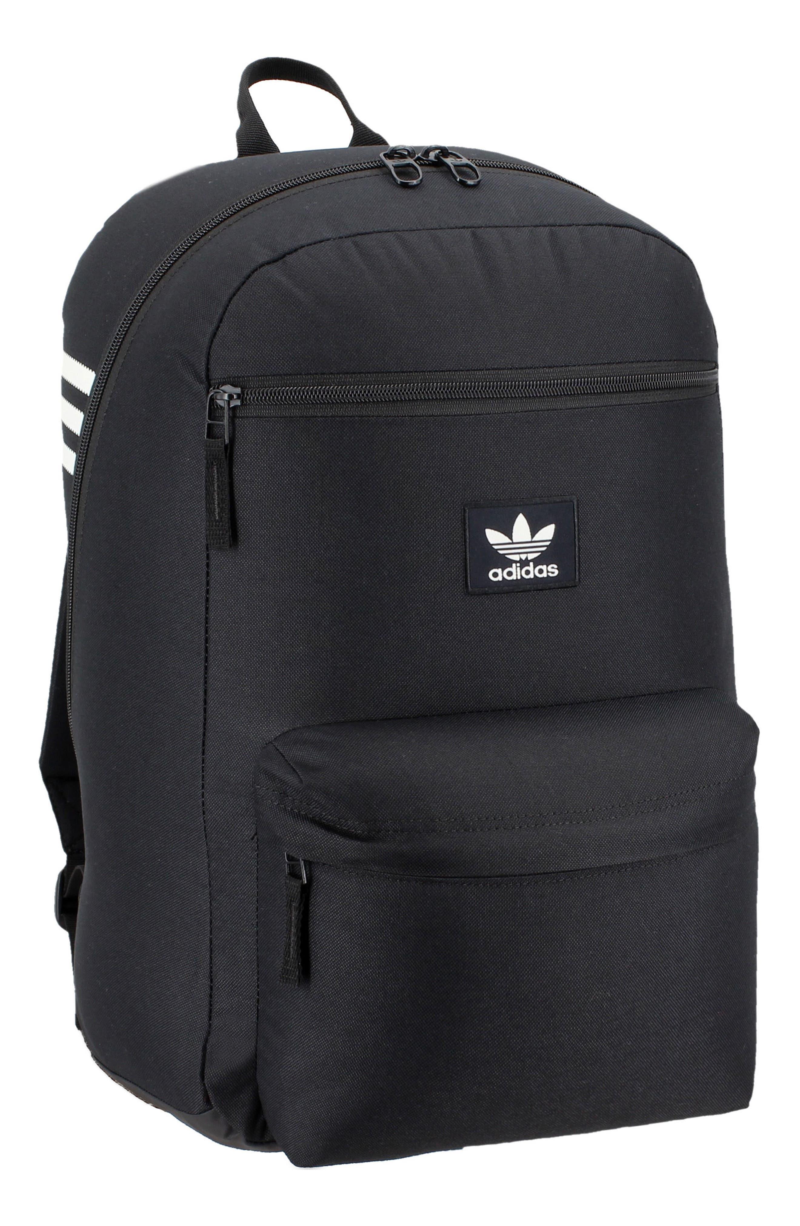 ADIDAS ORIGINALS Nationals Backpack, Main, color, BLACK