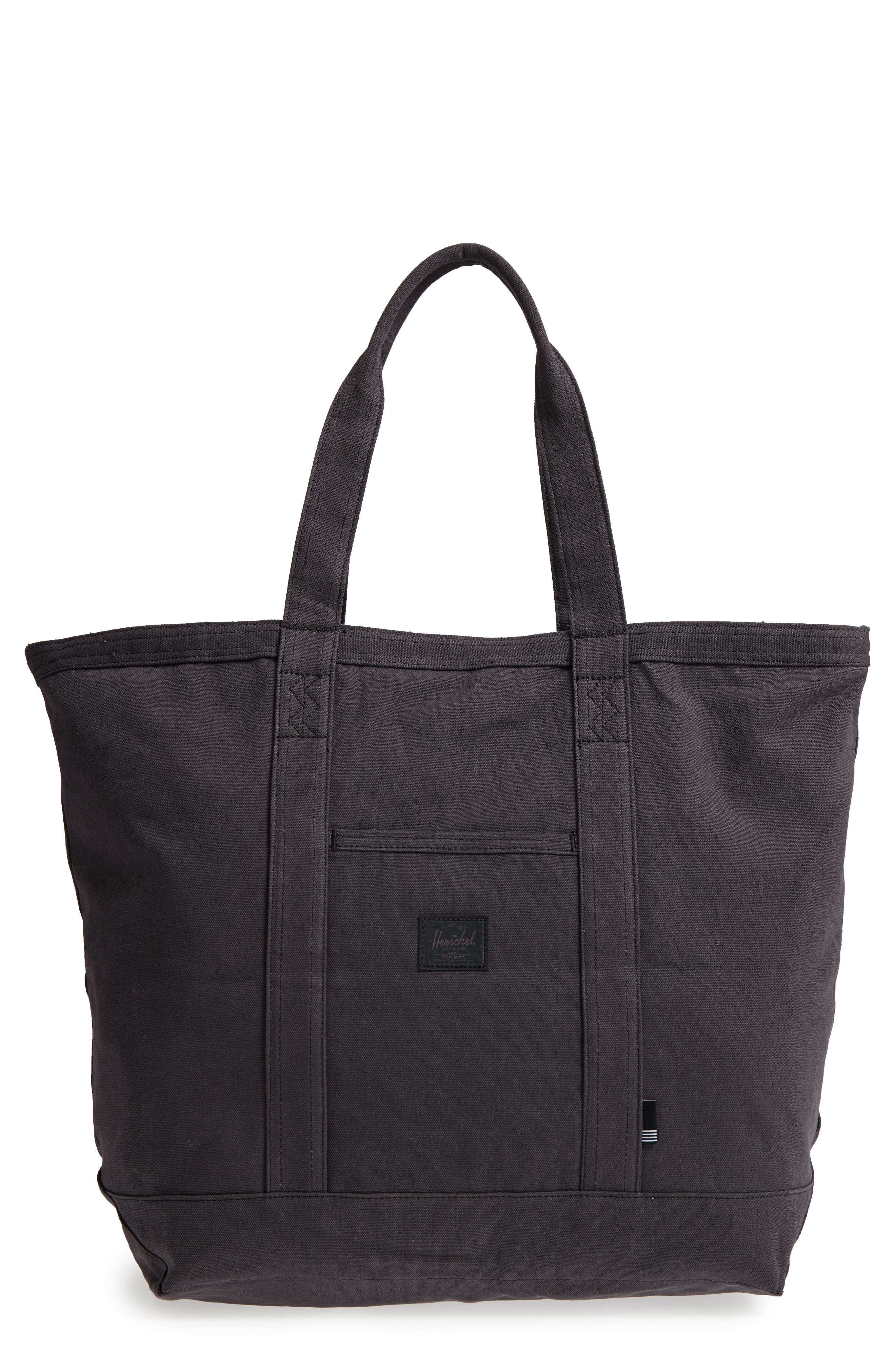 Bamfield Cotton Canvas Tote,                             Main thumbnail 1, color,