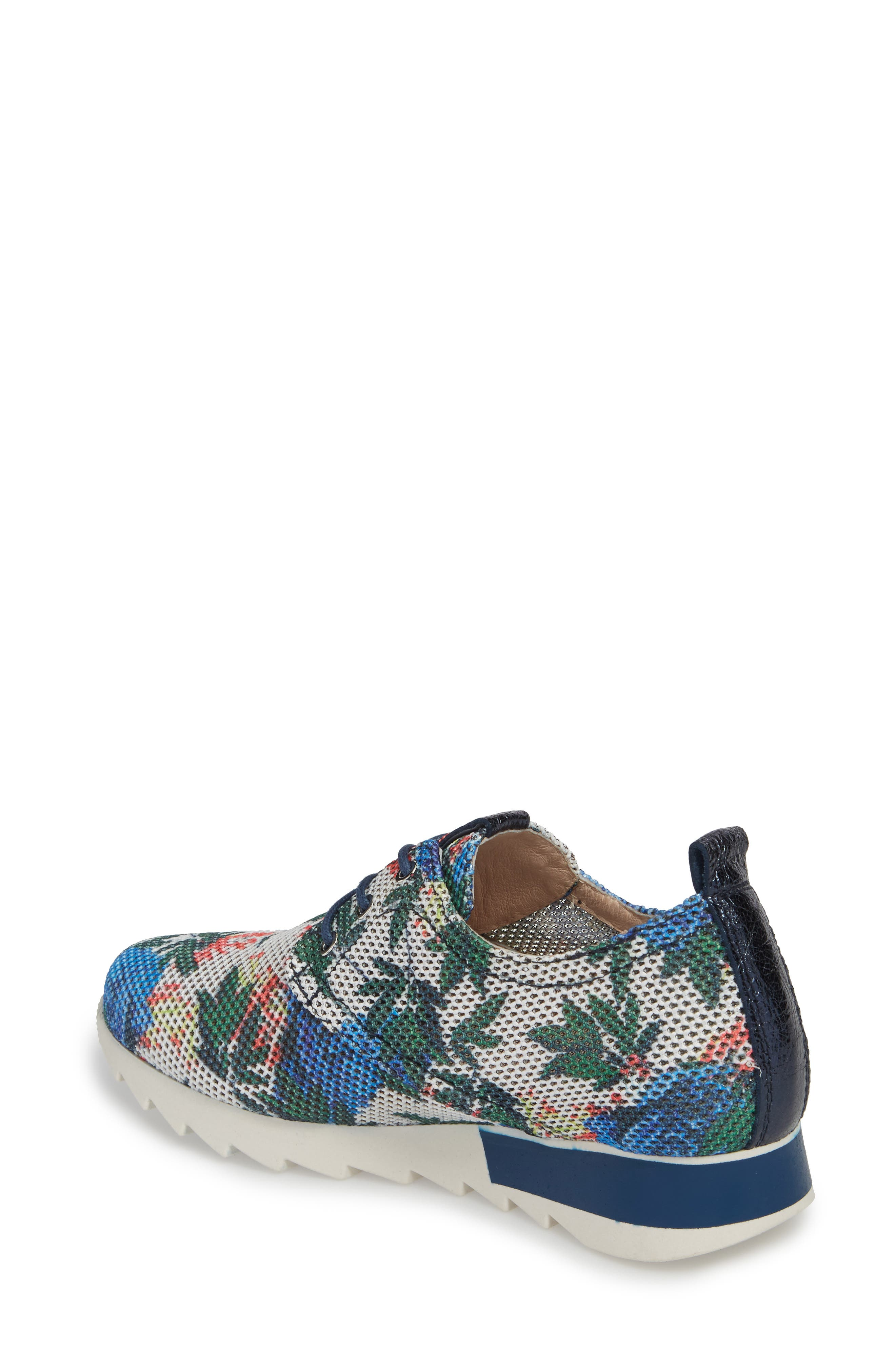 Breezi Perforated Sneaker,                             Alternate thumbnail 2, color,                             GINSEN LEATHER