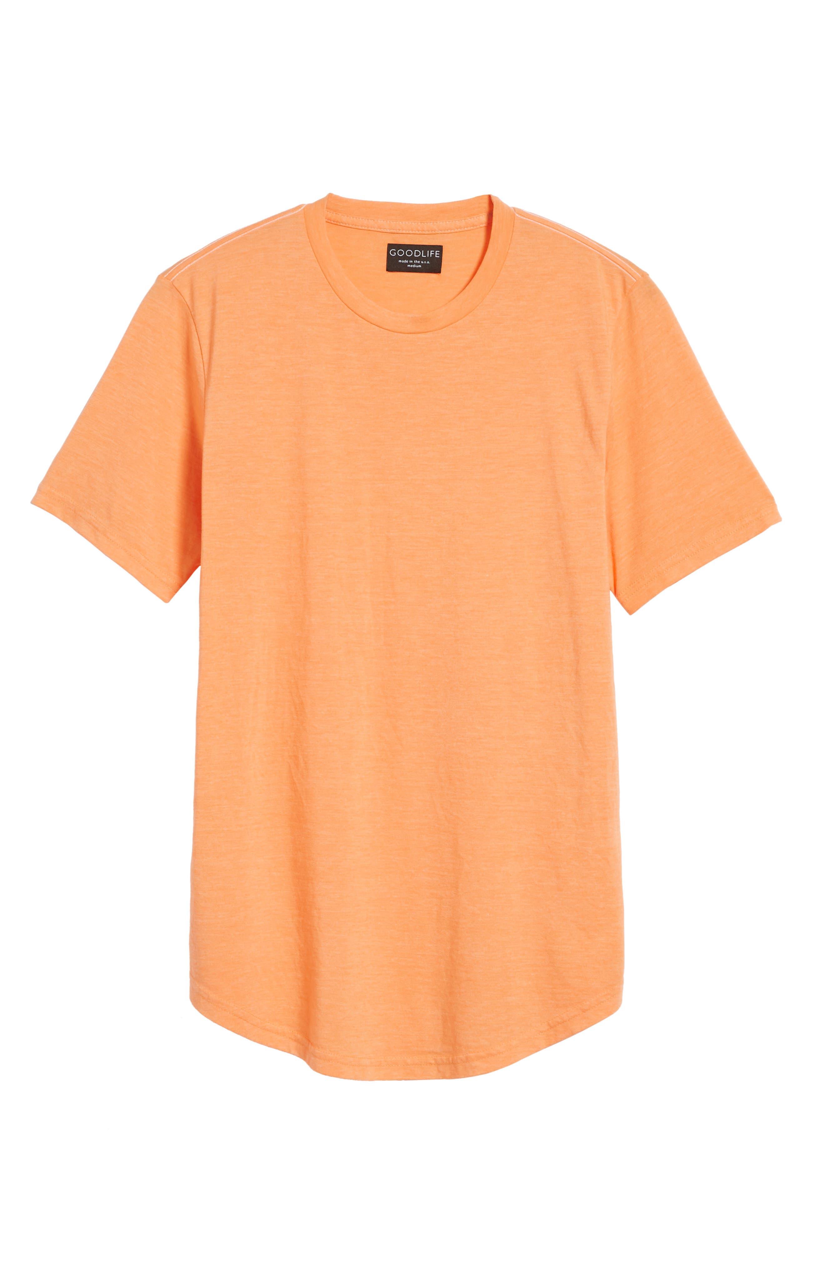 Scallop Triblend Crewneck T-Shirt,                             Alternate thumbnail 129, color,