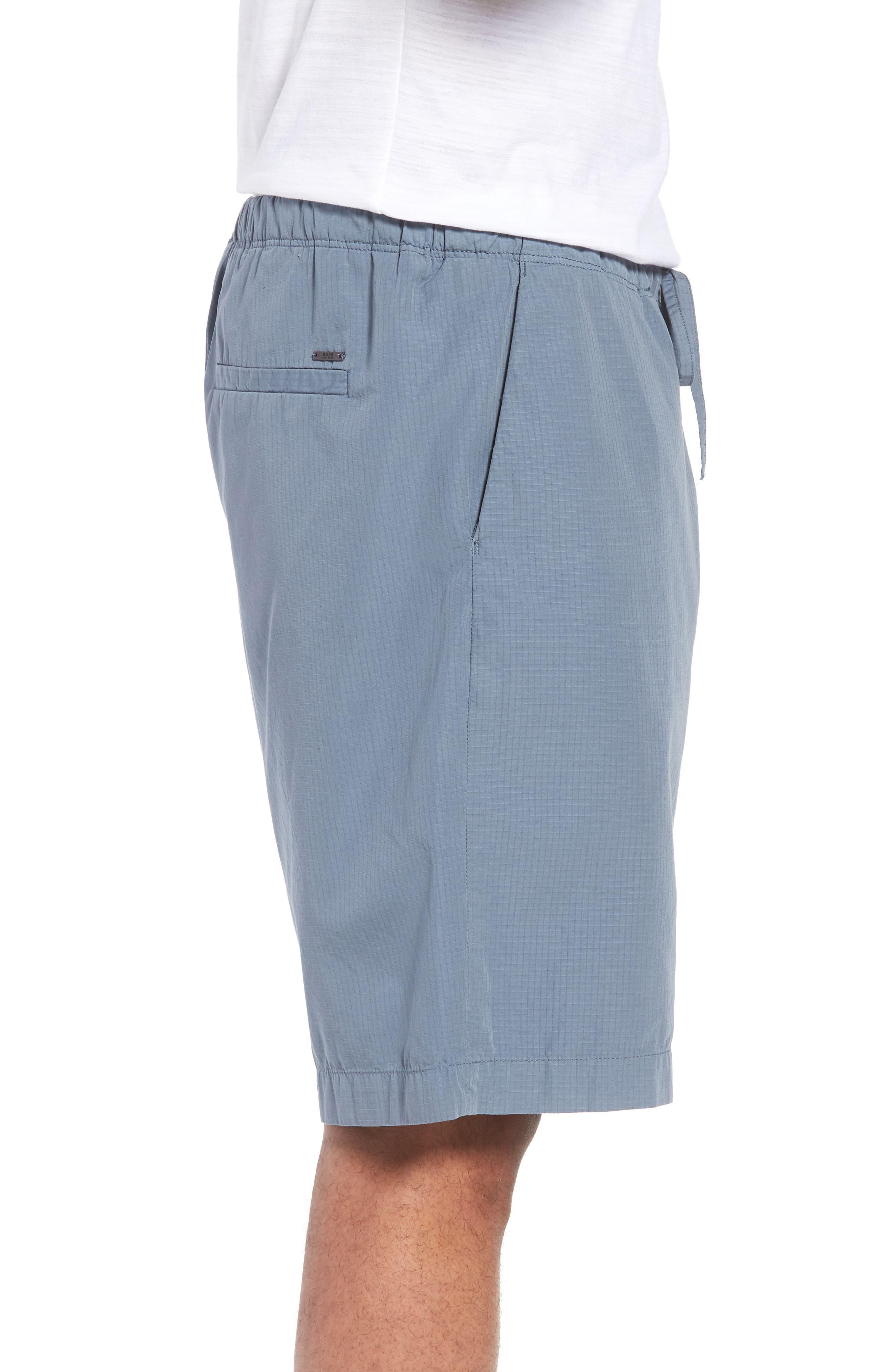 Passeo Cotton Shorts,                             Alternate thumbnail 3, color,                             GREY
