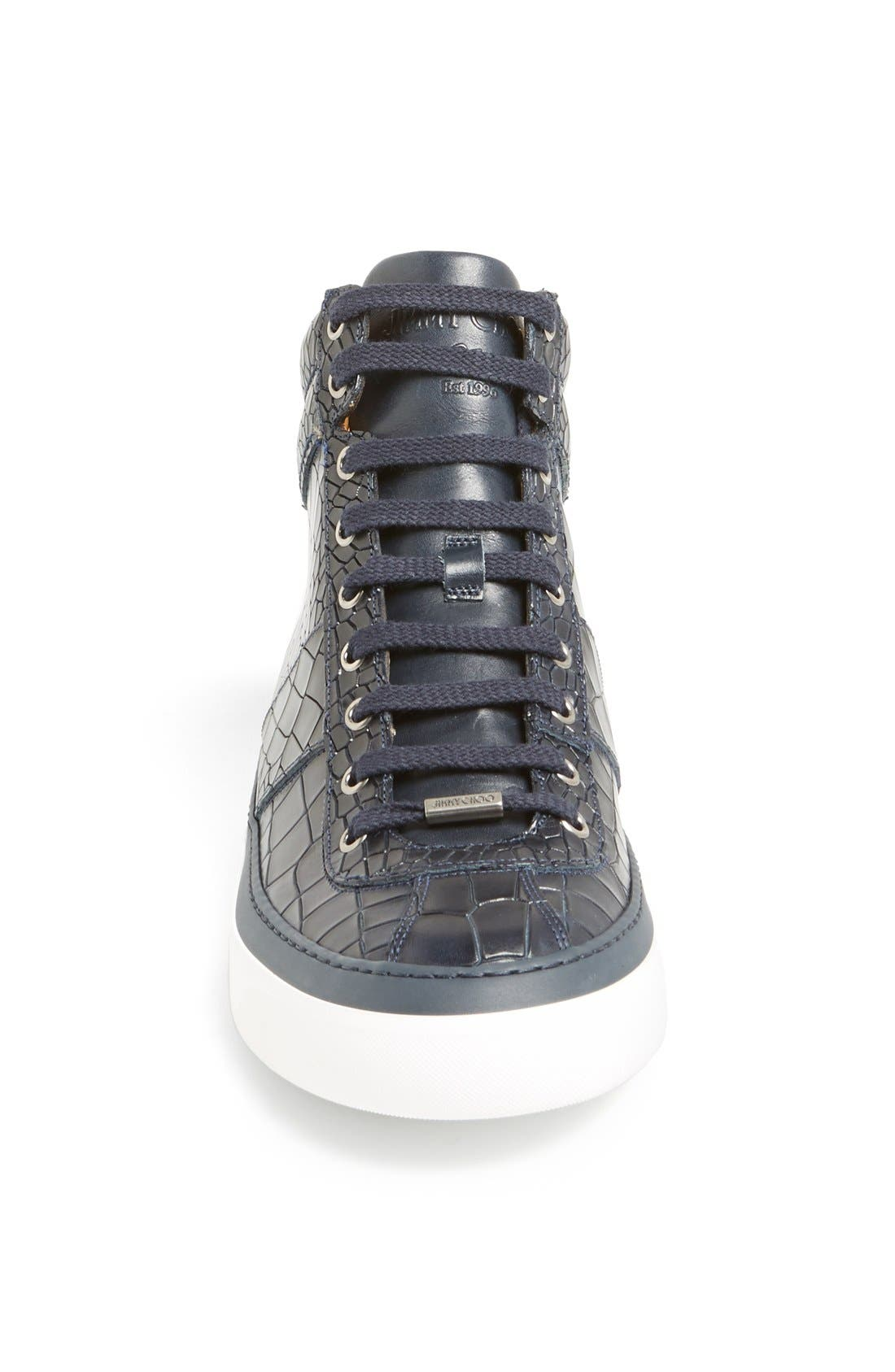 Belgravia High Top Sneaker,                             Alternate thumbnail 9, color,