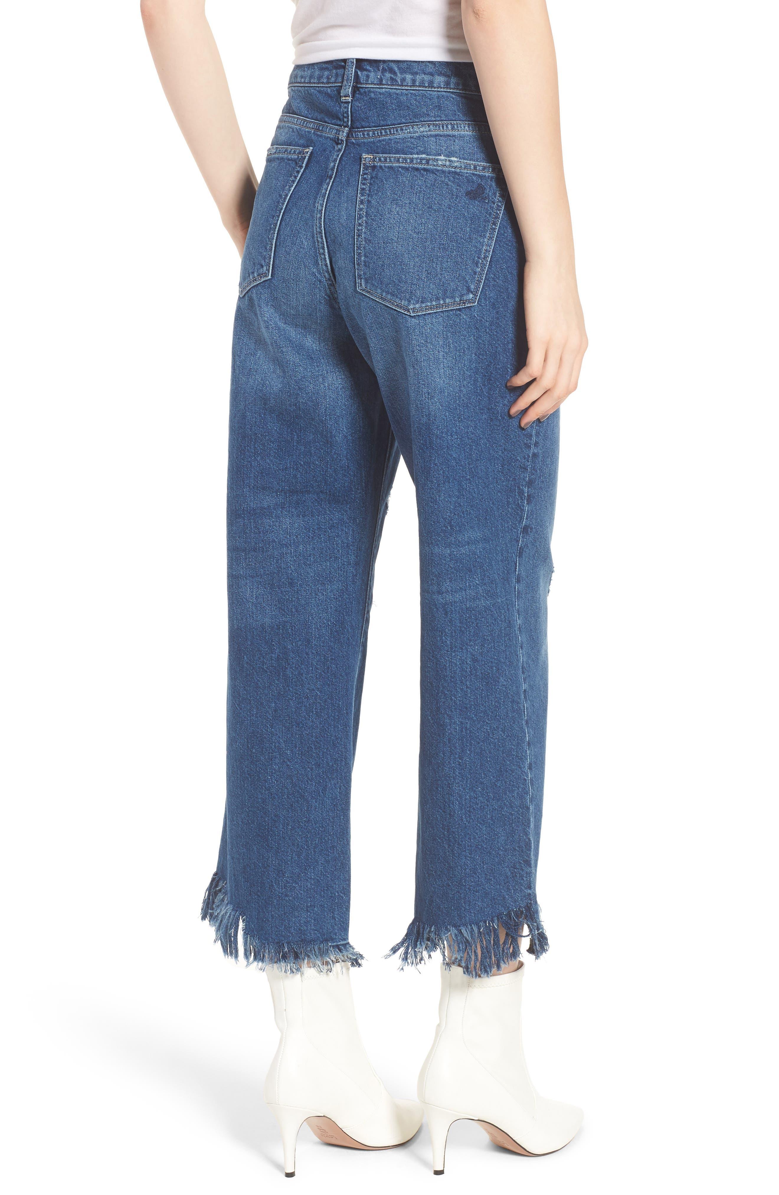Hepburn High Waist Wide Leg Jeans,                             Alternate thumbnail 2, color,