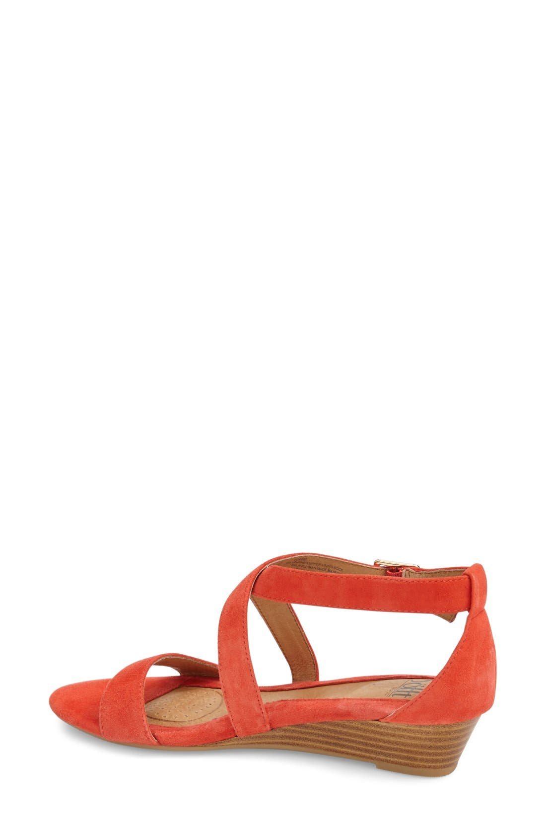 'Innis' Low Wedge Sandal,                             Alternate thumbnail 23, color,